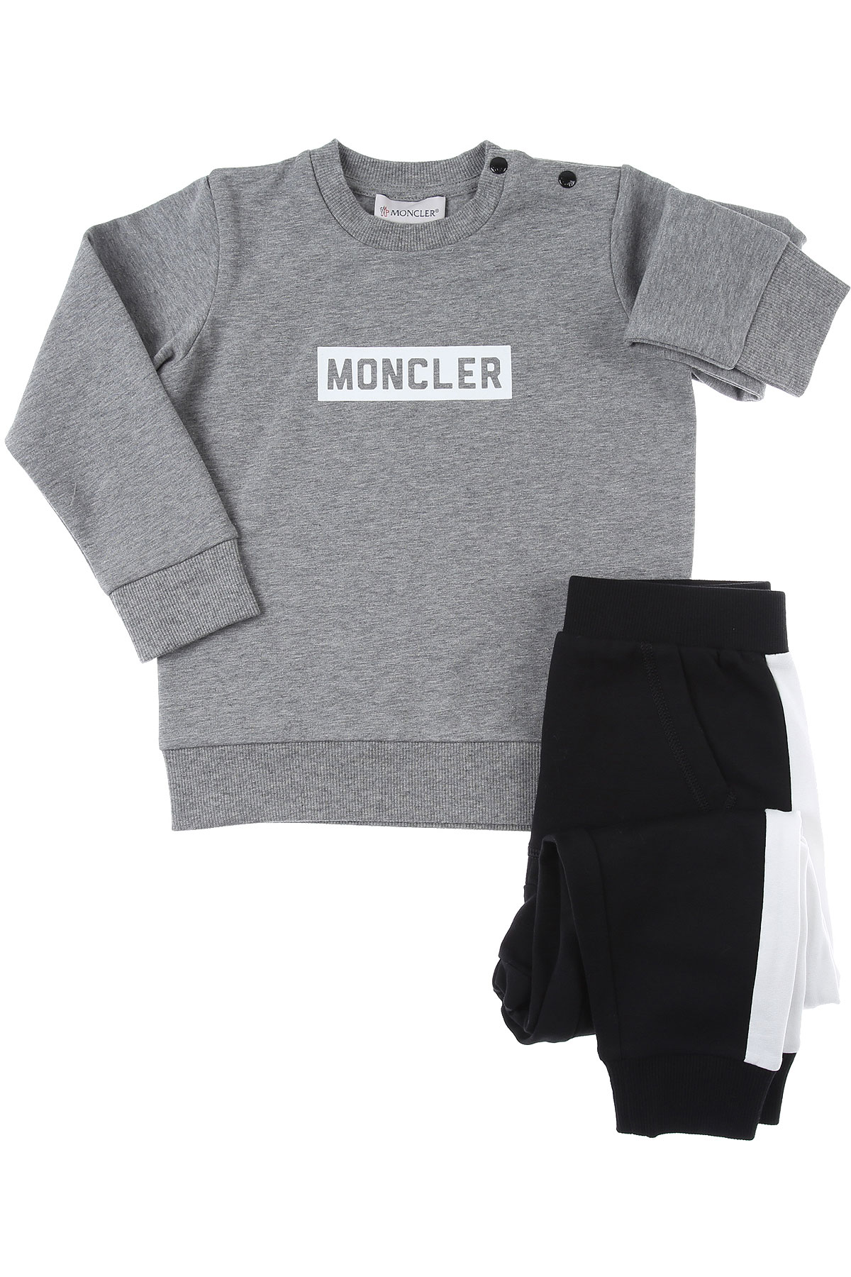 Moncler Baby Sets for Boys On Sale, Grey, Cotton, 2019, 2Y 3Y