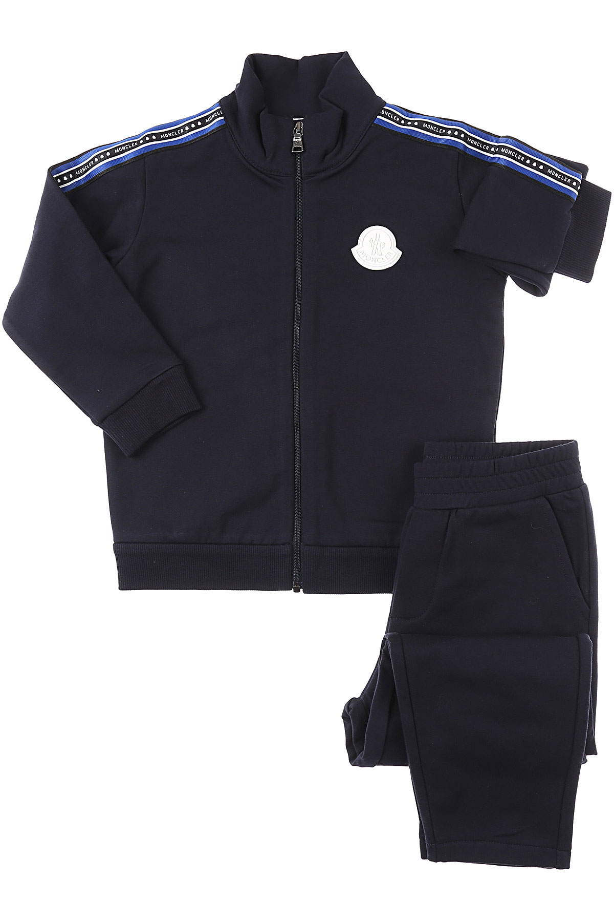 Moncler Baby Sets for Boys On Sale, Dark Blue, Cotto, 2019, 12 M 18M 2Y 3Y