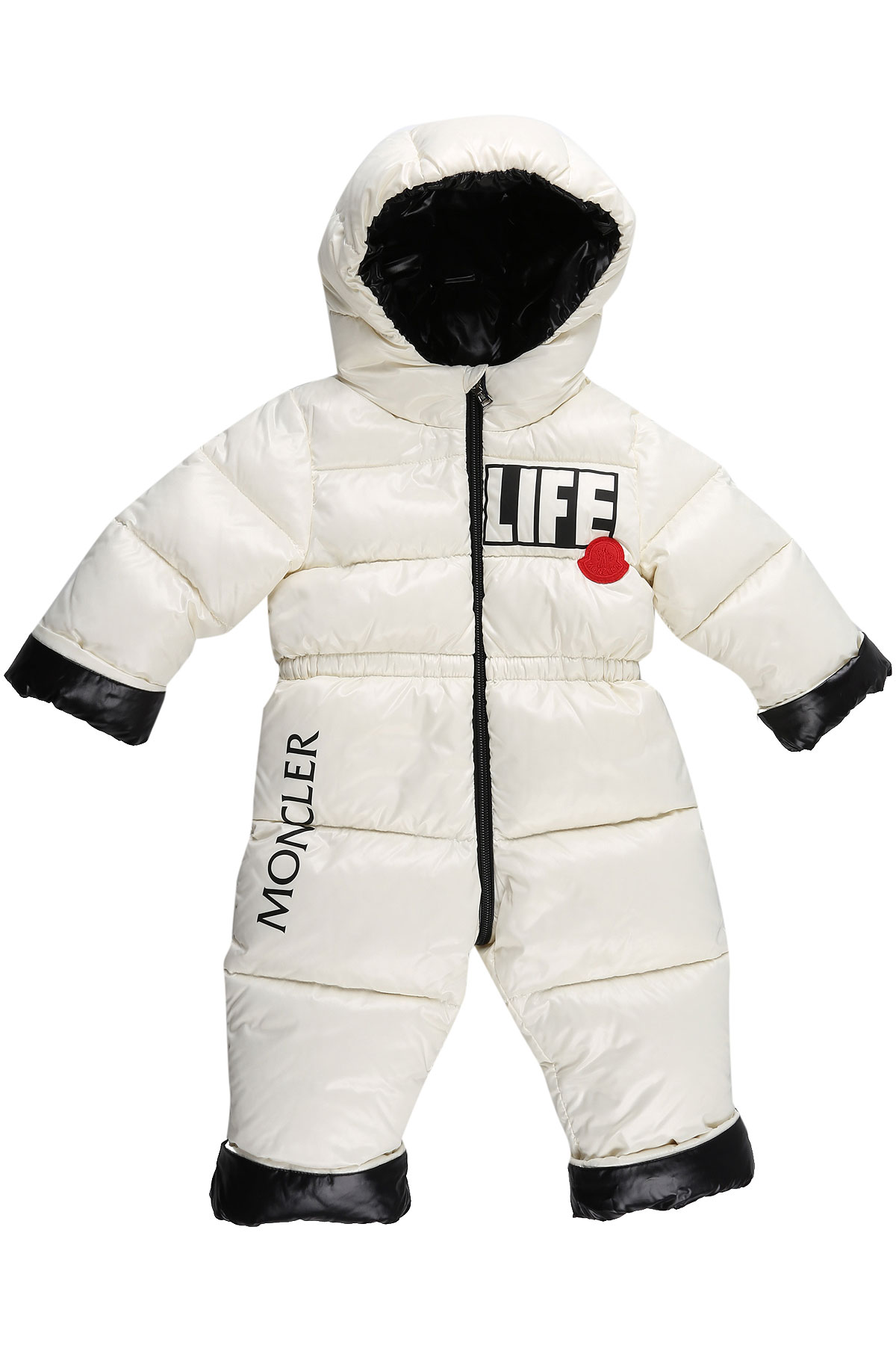 Moncler Baby Down Jacket for Girls On Sale, White, polyamide, 2019, 12M 18M 6M 9M