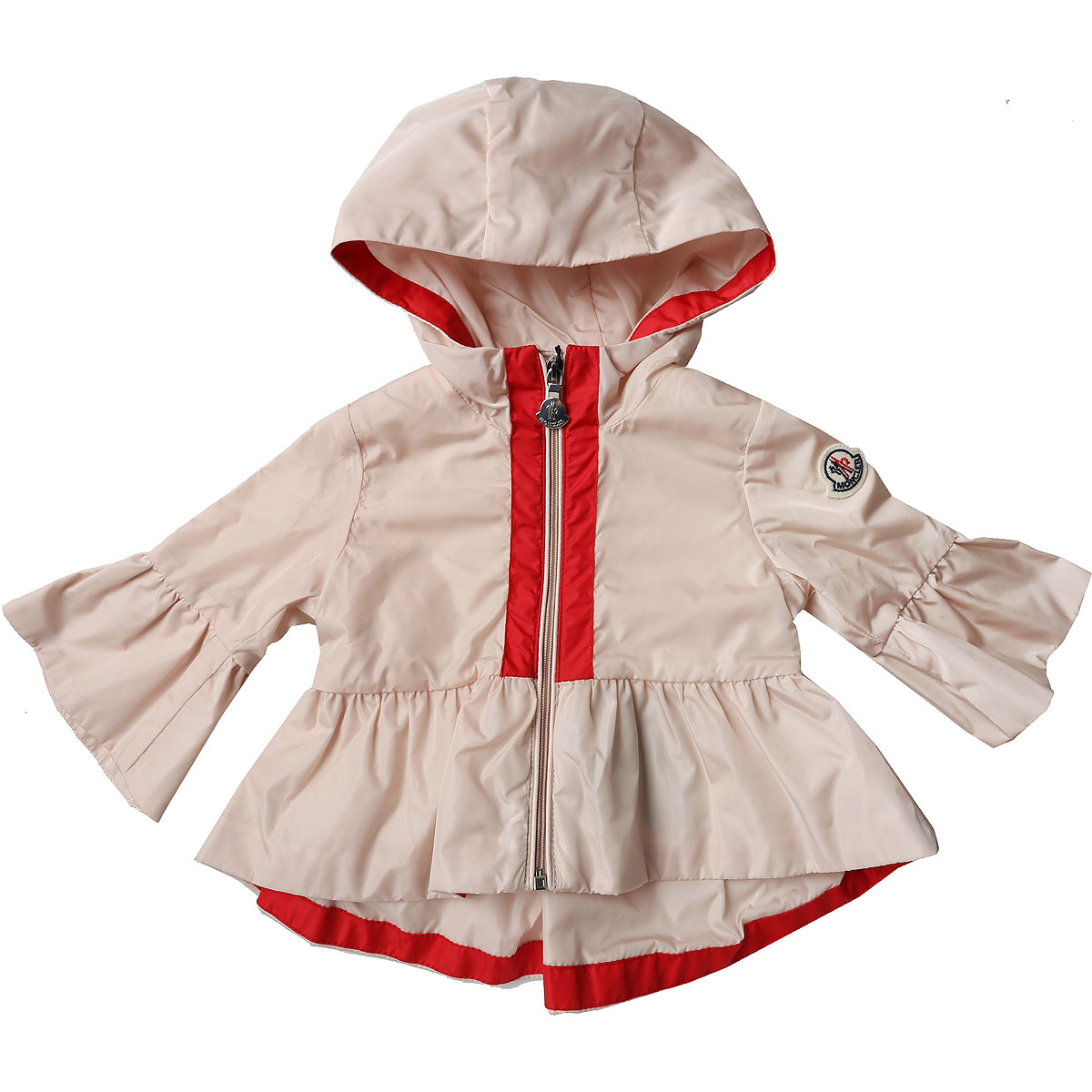 Image of Moncler Baby Jacket for Girls On Sale, Pink, polyamide, 2017, 9M