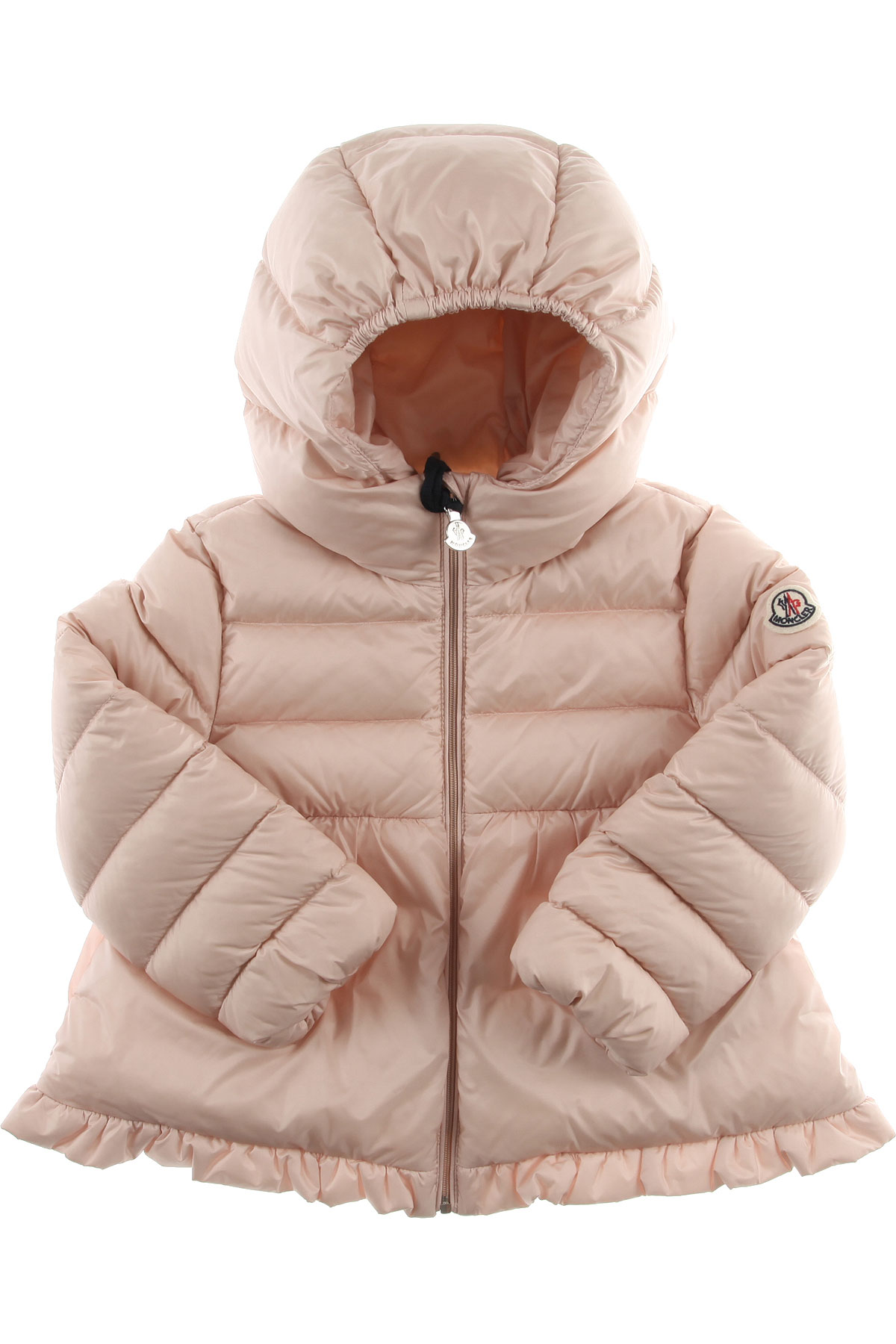 Moncler Baby Down Jacket for Girls On Sale, Baby Pink, polyamide, 2019, 12M 9M
