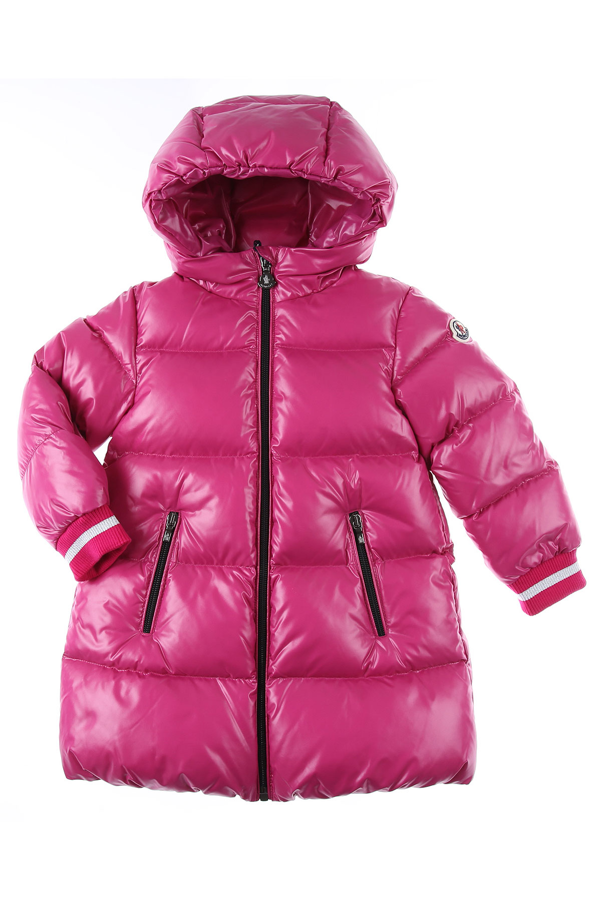 Moncler Baby Down Jacket for Girls On Sale, Fuchsia, polyamide, 2019, 24M 2Y