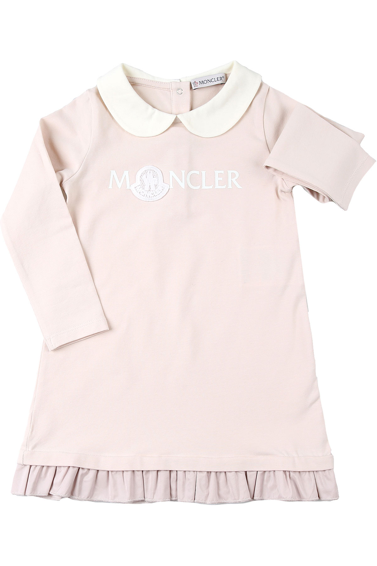 Moncler Baby Dress for Girls On Sale, Pink, Cotton, 2019, 2Y 3Y