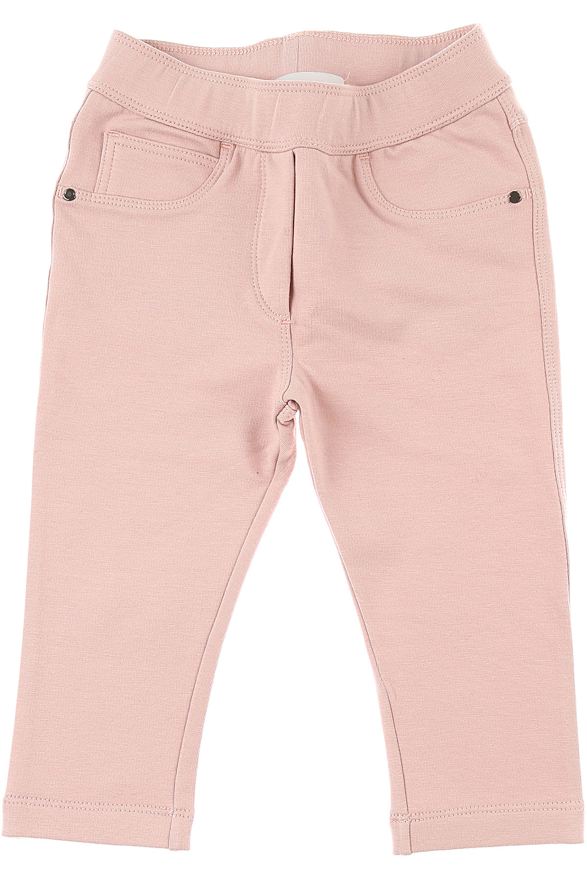 Moncler Baby Pants for Girls On Sale in Outlet, Pink, Cotton, 2019, 12M 24M 9M