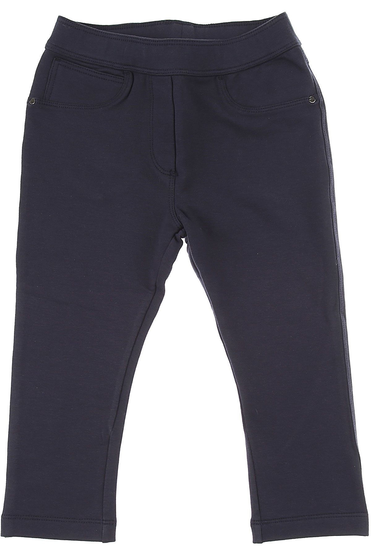 Moncler Baby Pants for Girls On Sale in Outlet, navy, Cotton, 2019, 24M 2Y