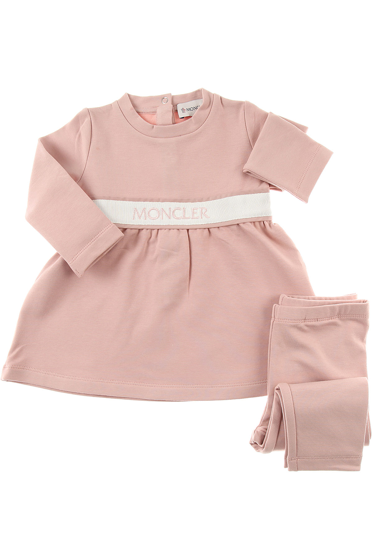 Image of Moncler Baby Sets for Girls, Pink, Cotton, 2017, 24M 2Y 3Y 9M