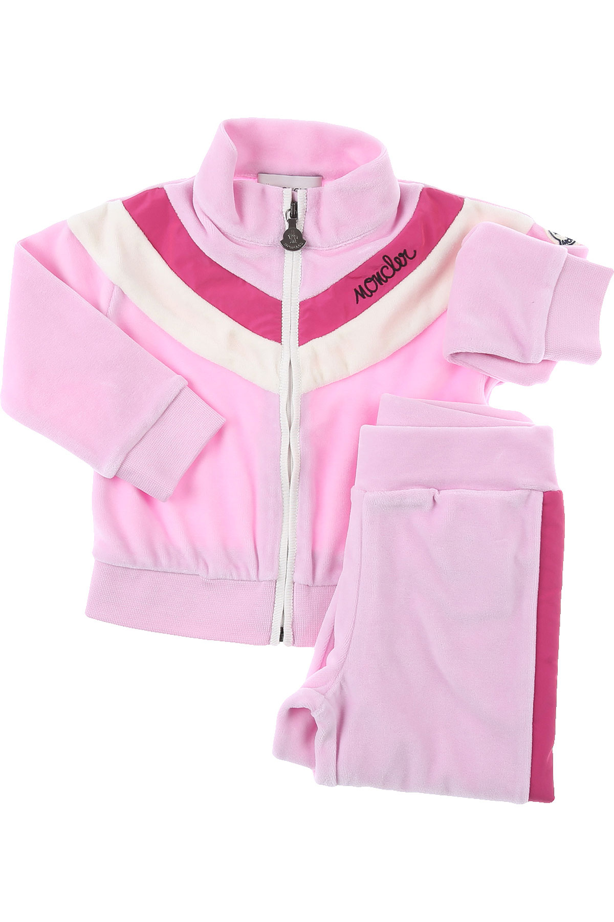 Moncler Baby Sets for Girls On Sale, Pink, Cotton, 2019, 18M 24M 2Y 3Y