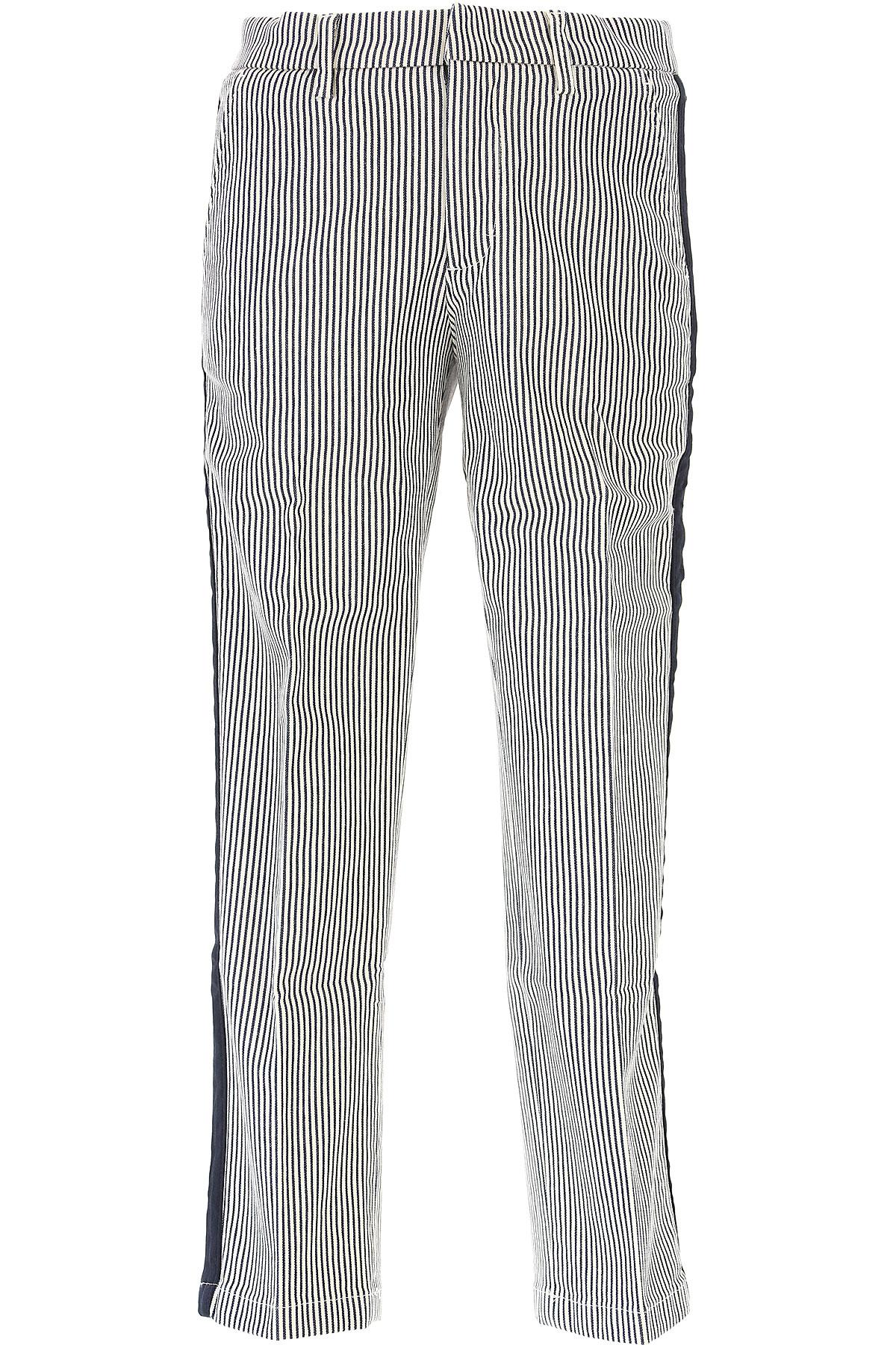 Moncler Pantalons Enfant pour Garçon Pas cher en Soldes Outlet, Bleu, Coton, 2017, 5Y 6Y