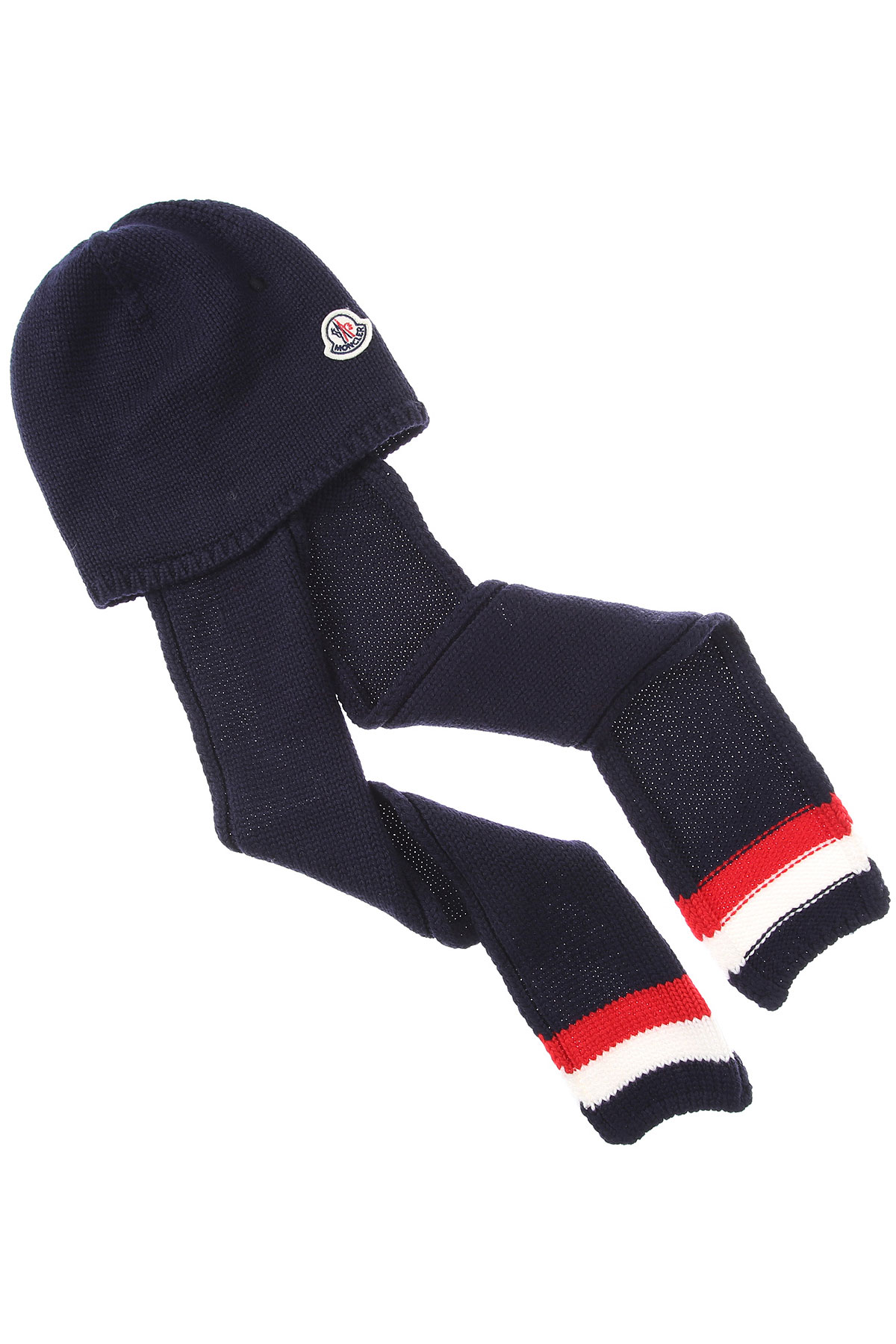 Moncler Baby Hats for Boys On Sale, Blue, Wool, 2019, 0M 1M