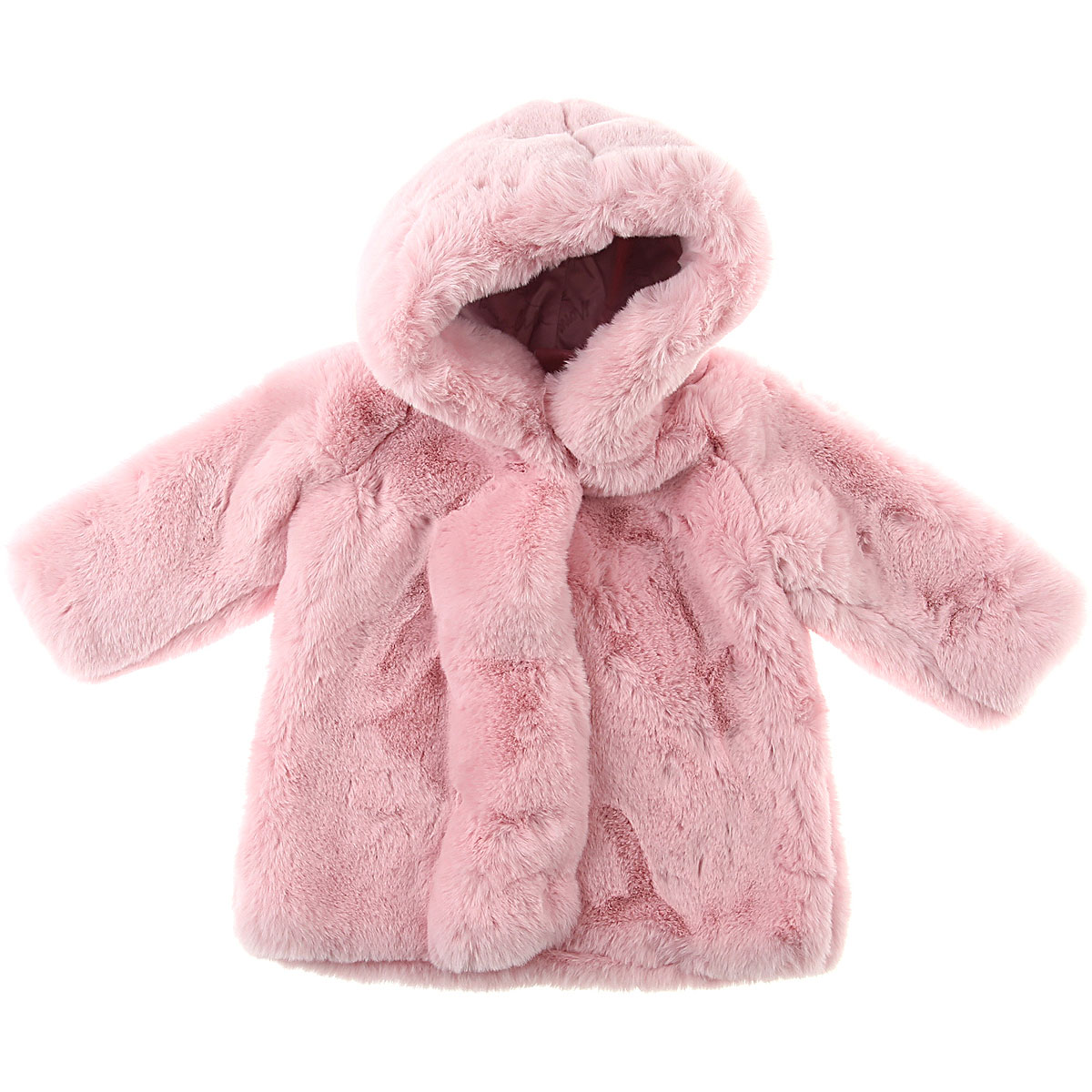 Monnalisa Baby Coats for Girls On Sale, Pink, polyester, 2019, 12M 18M 6M 9M