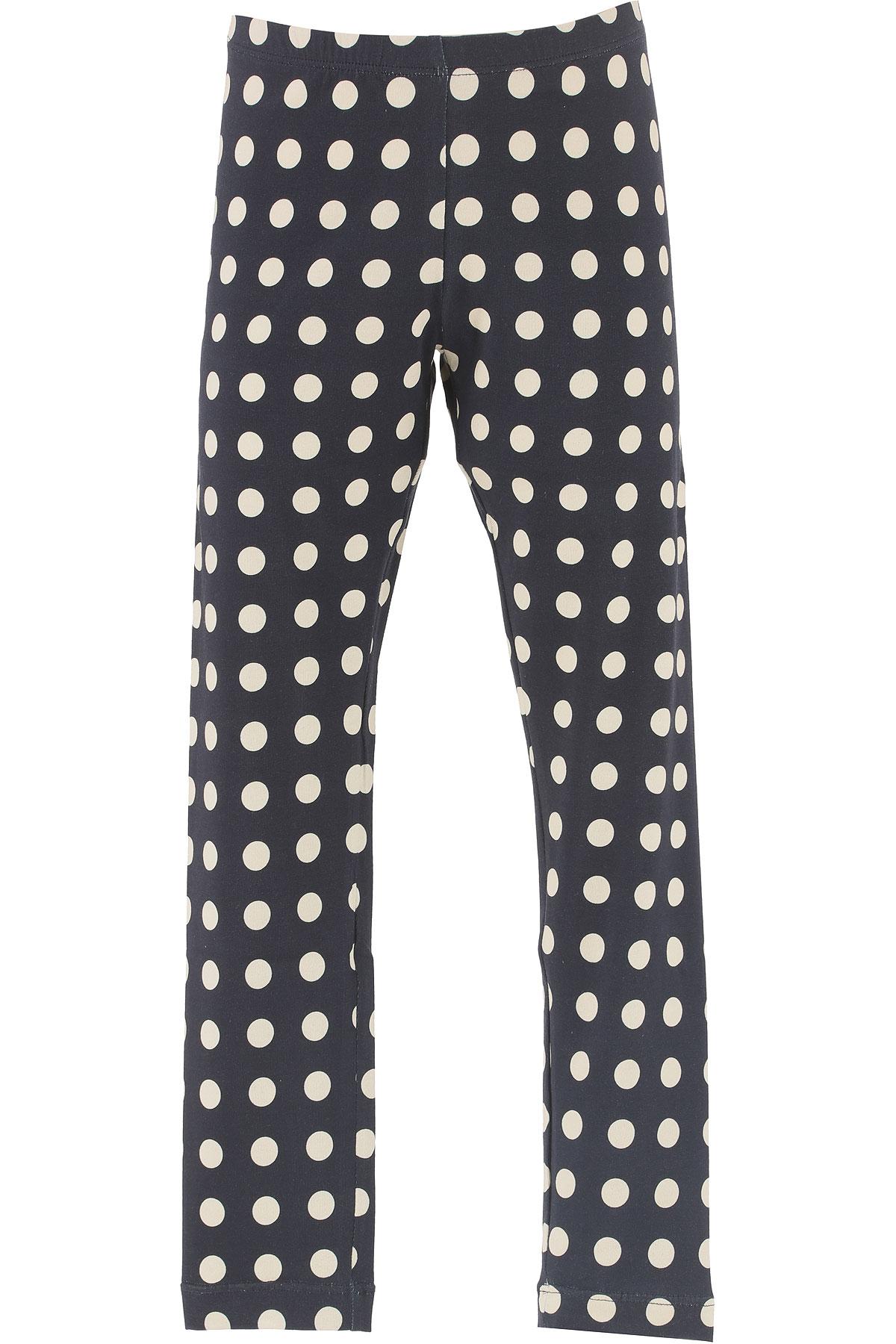 Monnalisa Pantalons Enfant pour Fille, Bleu, Coton, 2017, 12Y 2Y