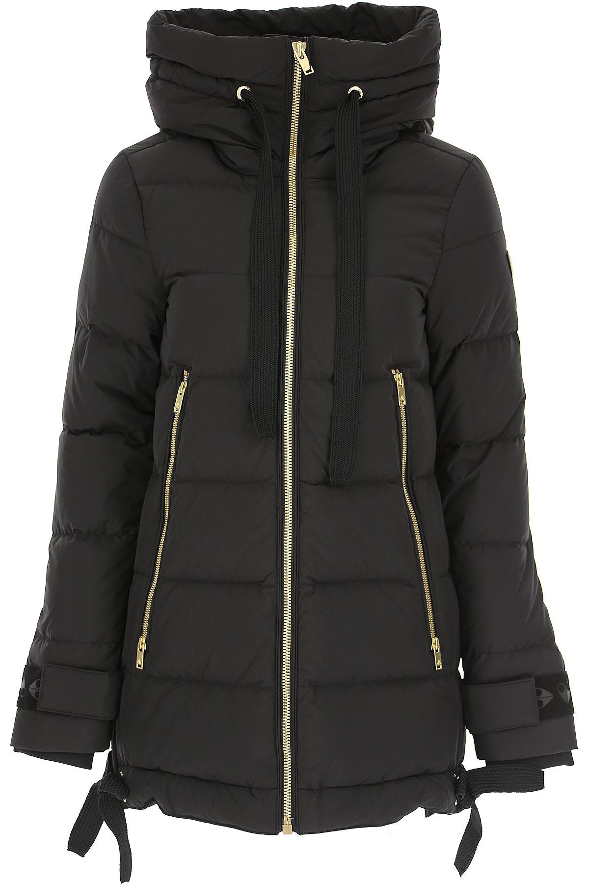 Moose Knuckles Down Jacket for Women, Puffer Ski Jacket On Sale, Black, Down, 2019, 2 4 6