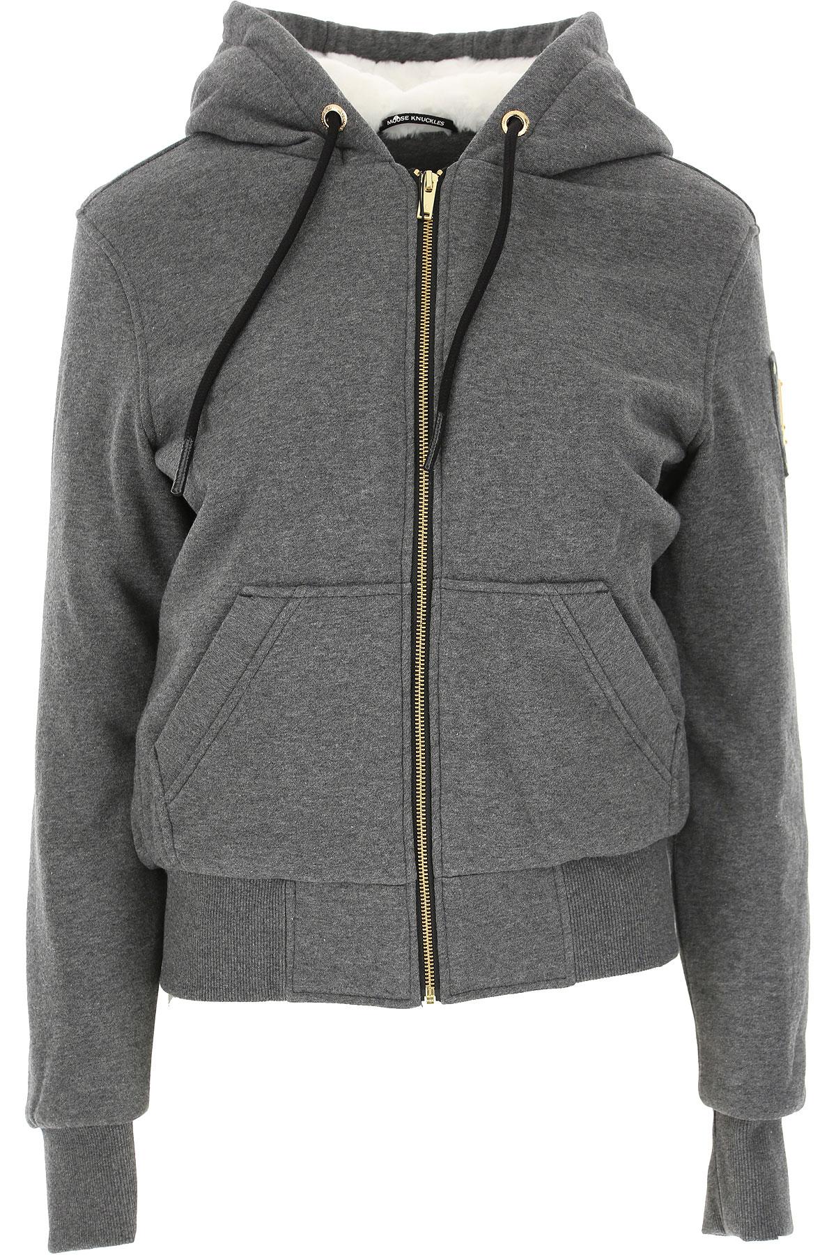 Moose Knuckles Jacket for Women On Sale, Grey, Cotton, 2019, 2 4 6