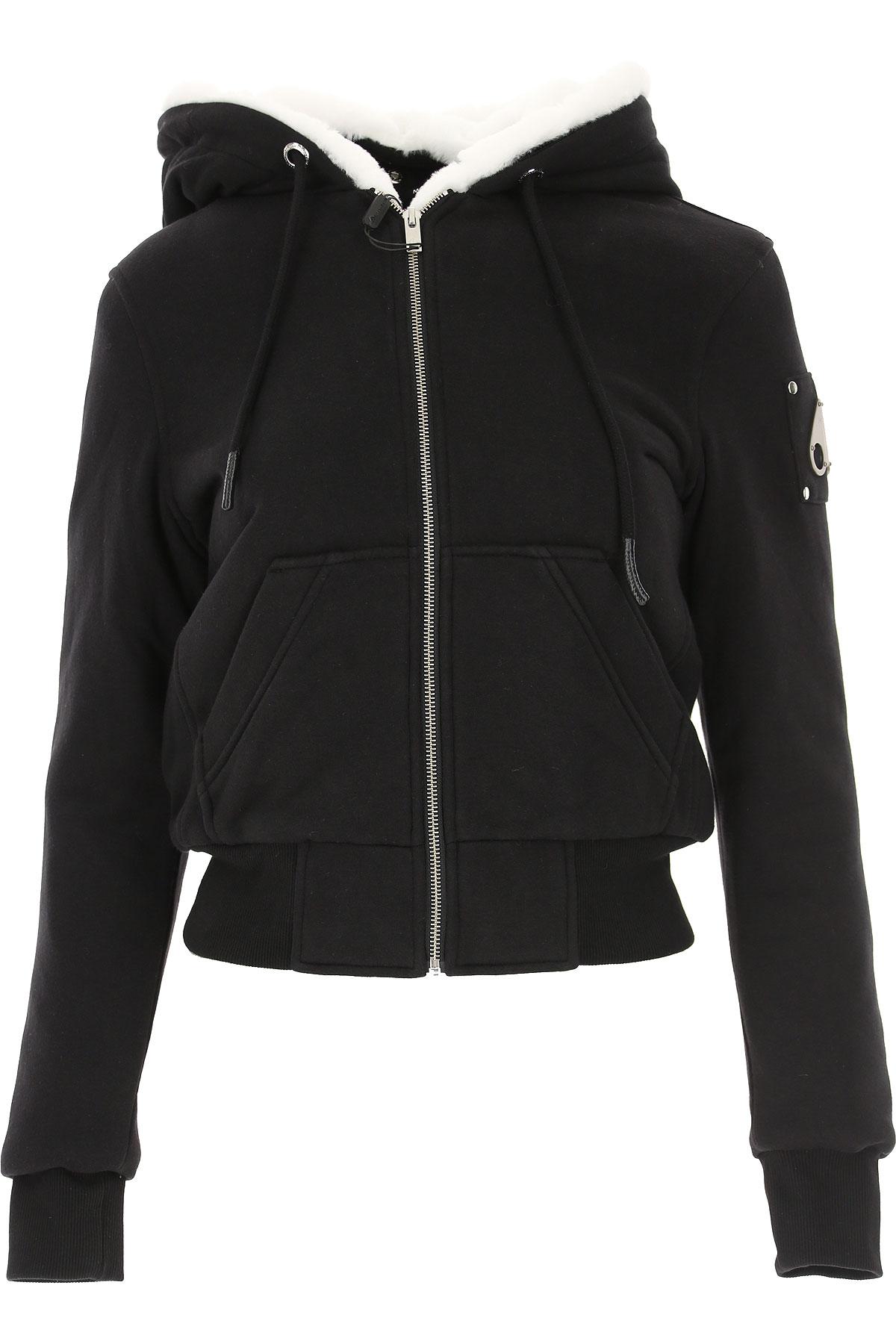 Moose Knuckles Jacket for Women On Sale, Black, Cotton, 2019, 2 4 6
