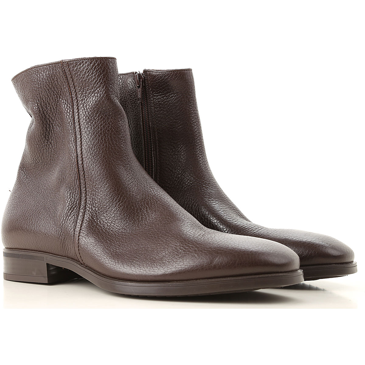 Image of Moreschi Boots for Men, Booties, Dark Brown, Leather, 2017, 10 10.5 11 11.5 12 6 7 7.5 8 8.5 9 9.5