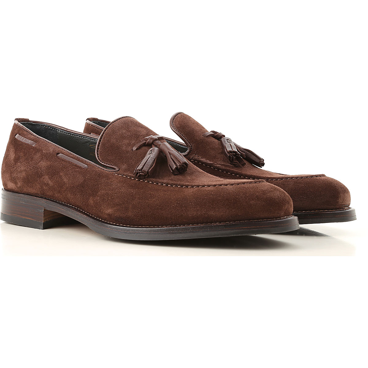 Image of Moreschi Loafers for Men, Brown, suede, 2017, 10 10.5 11 11.5 12 7 7.5 8 8.5 9 9.5