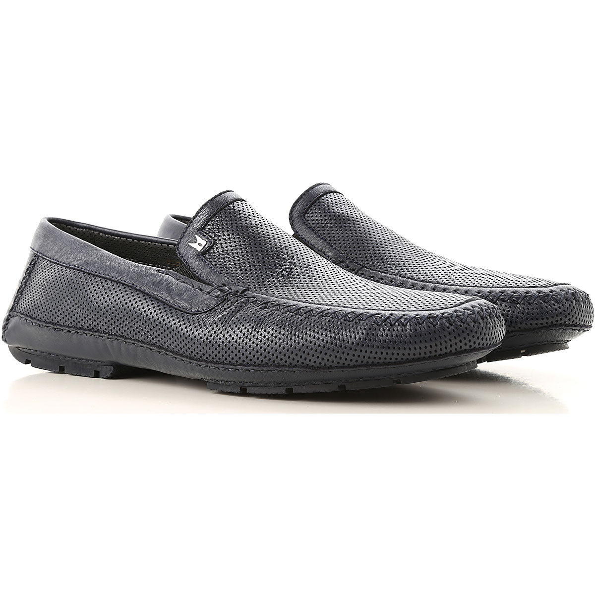 Moreschi Slip on Sneakers for Men On Sale, Blue, Leather, 2019, 11.5 13 6 7 7.5 8 8.5 9 9.5