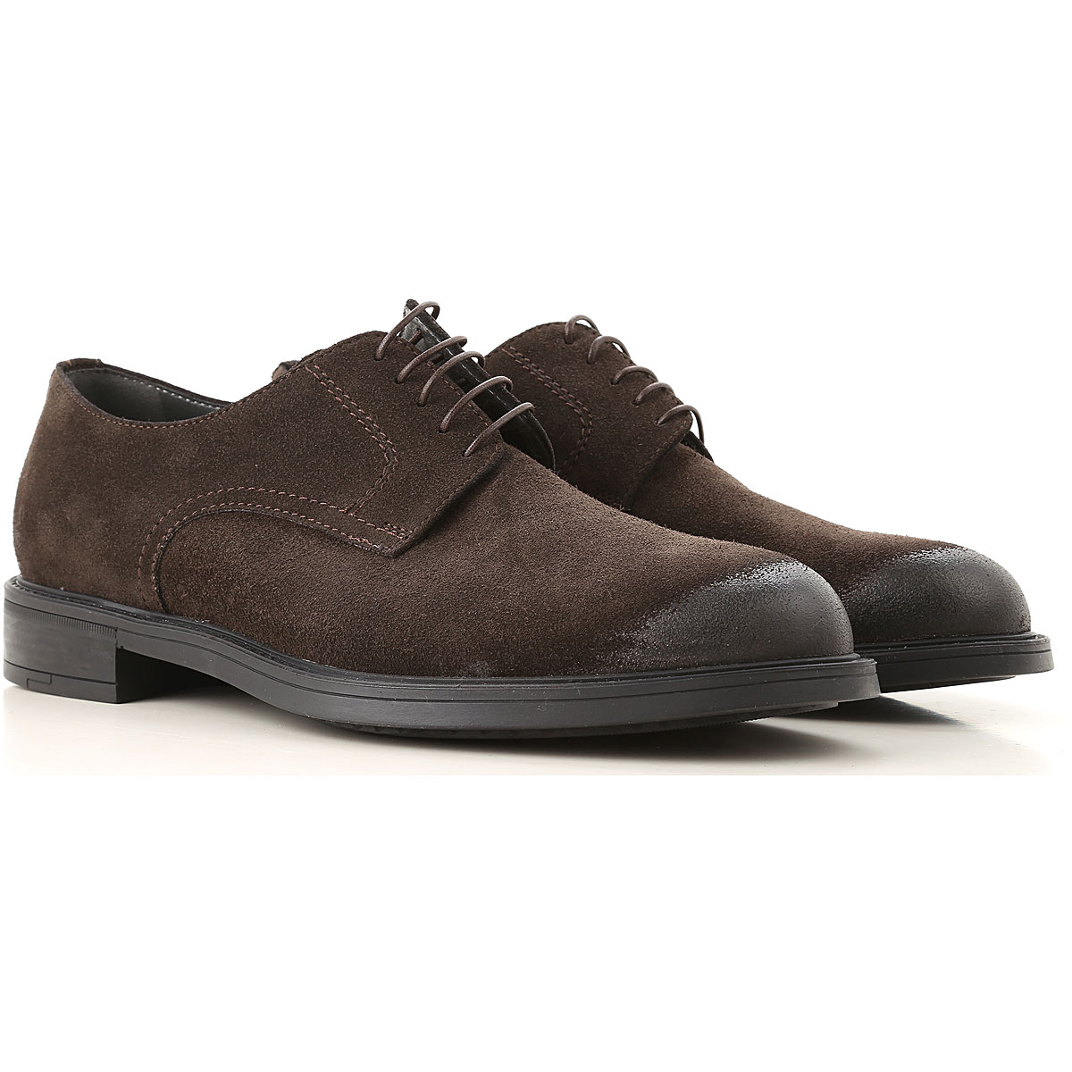 Moreschi Lace Up Shoes for Men Oxfords, Derbies and Brogues On Sale, Brown, Suede leather, 2019, 11 7.5 8 9 9.5