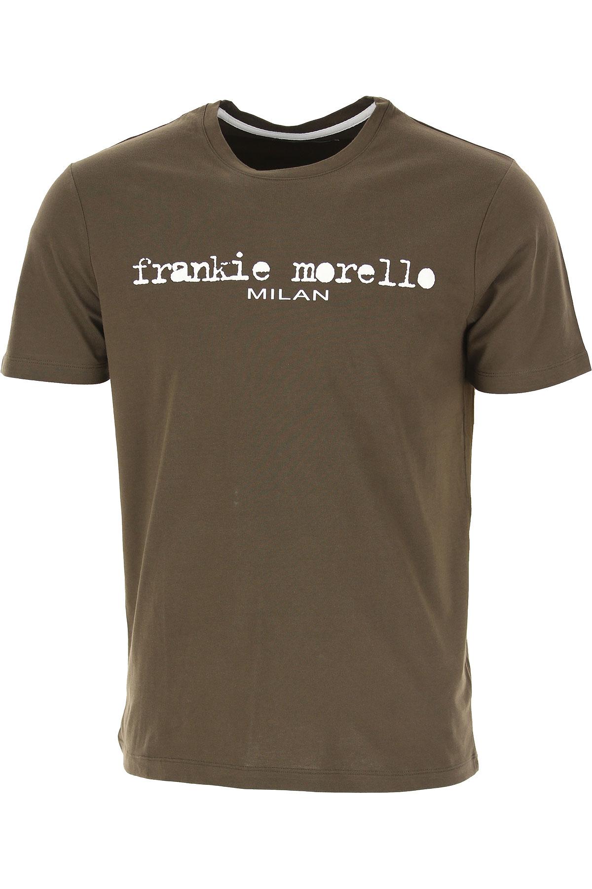 Frankie Morello T-shirt Homme, Tortue, Coton, 2019, L M S XL