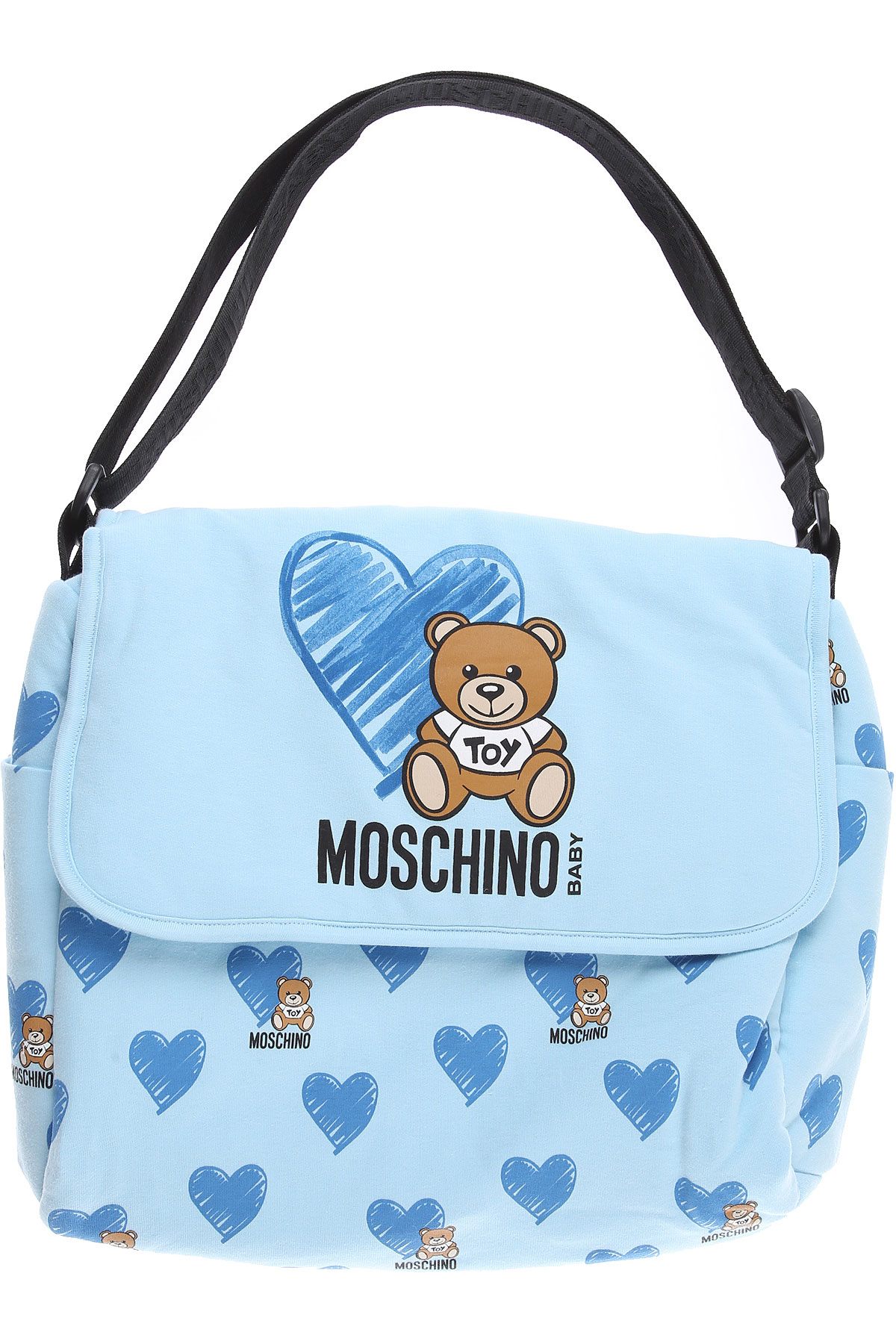 Moschino Baby Bodysuits & Onesies for Boys On Sale, Sky, Cotton, 2019
