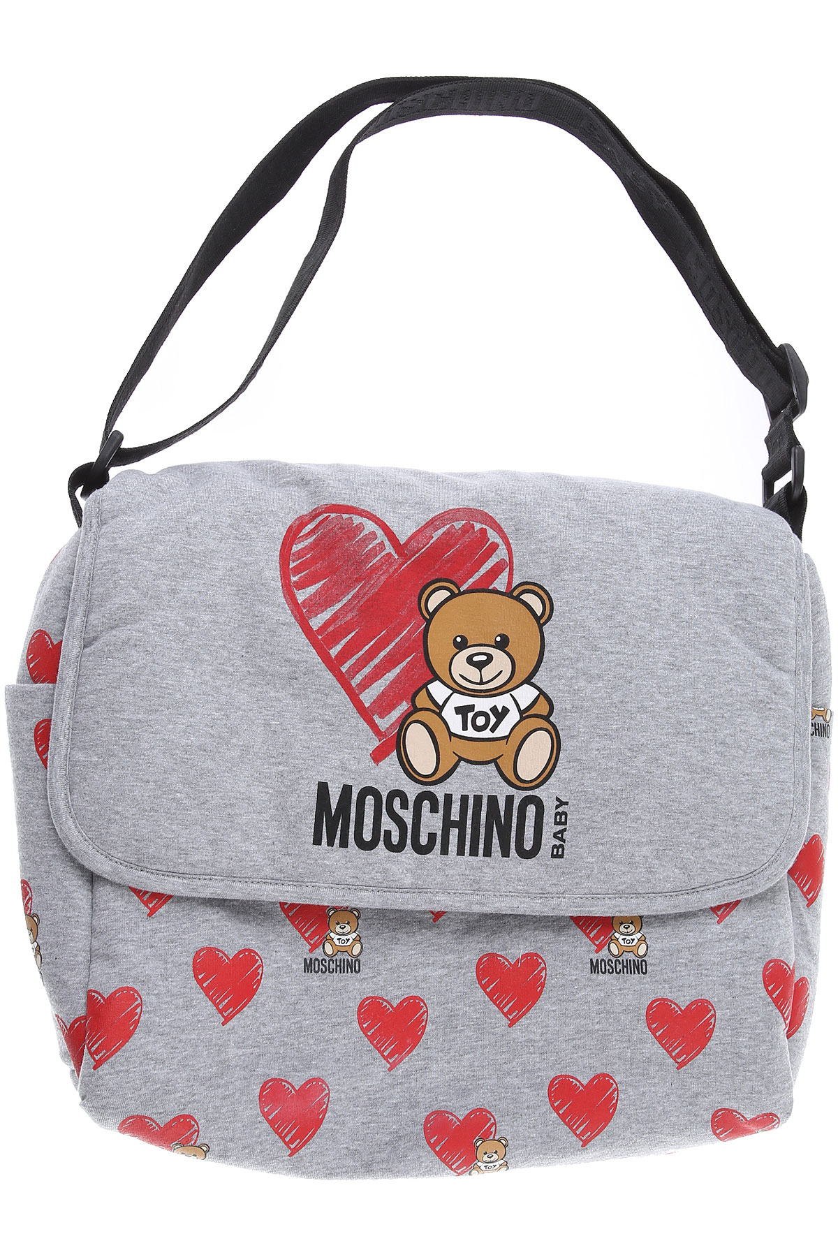 Moschino Baby Bodysuits & Onesies for Boys On Sale, Grey, Cotton, 2019