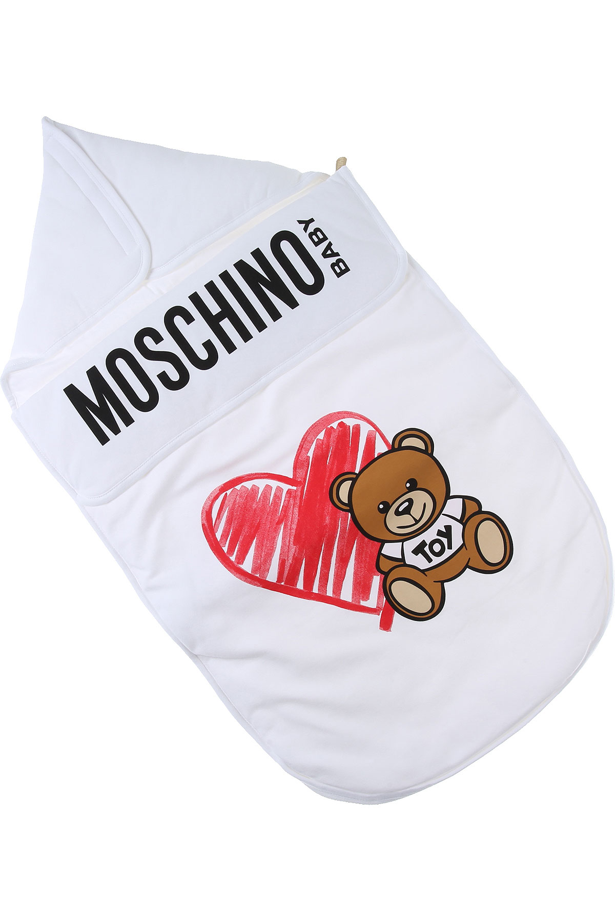 Moschino Baby Bodysuits & Onesies for Boys On Sale, White, Cotton, 2019