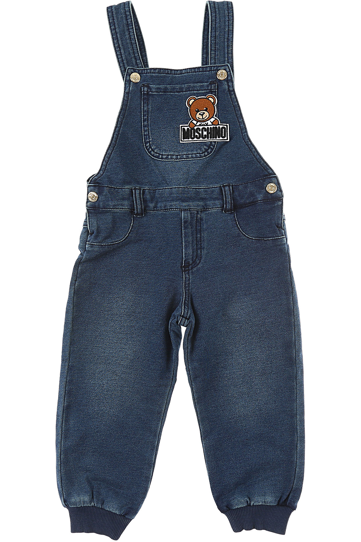 Moschino Baby Jeans for Boys, Dark Blue, Cotton, 2017, 24M 2Y 3Y 6M 9M USA-470076