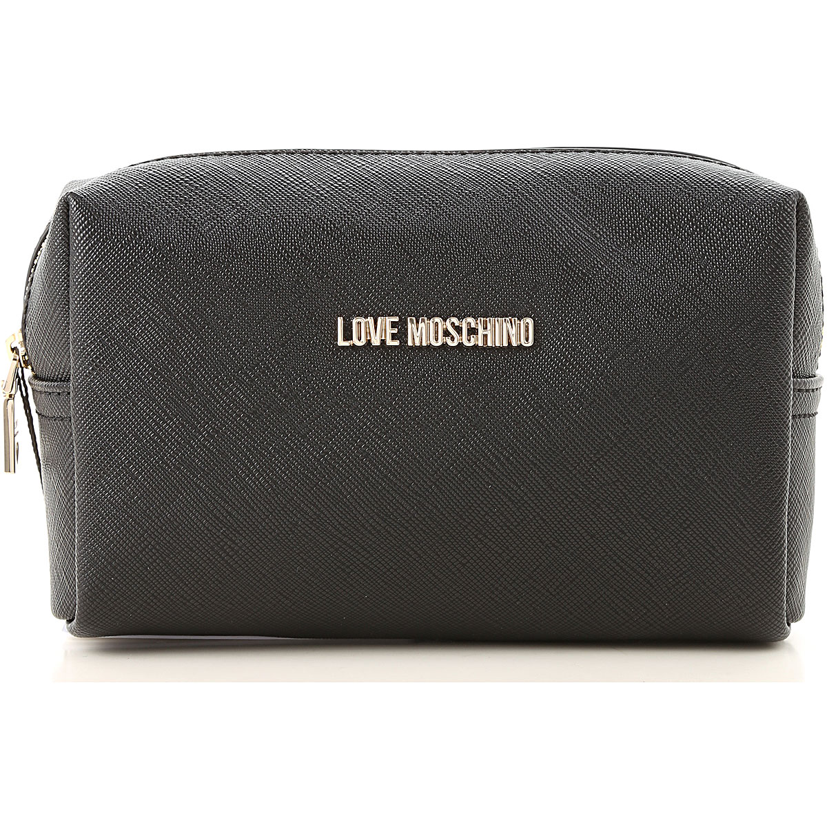 Image of Moschino Toiletry Bags, Black, polyurethane, 2017
