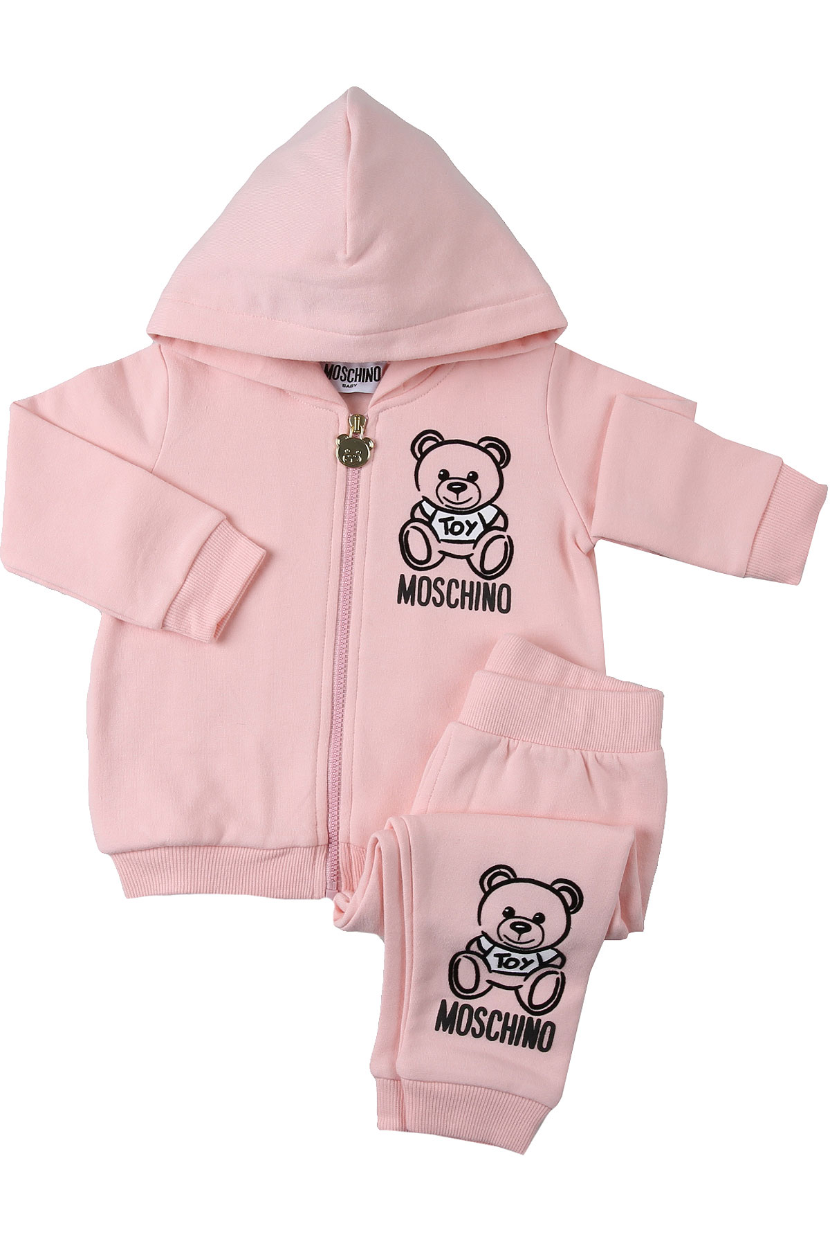 Moschino Baby Girl Clothing On Sale, Light Pink, Cotton, 2019, 12M 18M 24M 2Y 3Y 9M