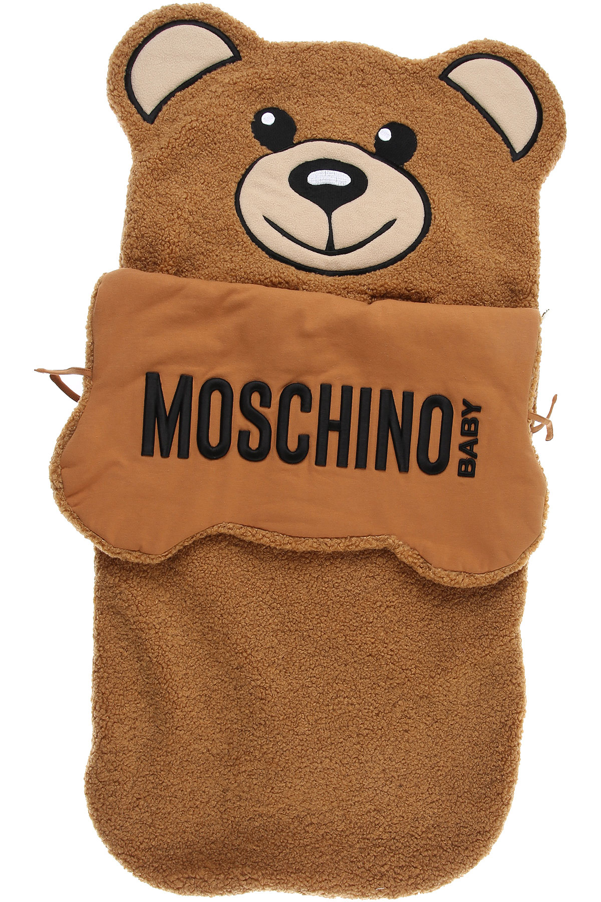 Moschino Baby Bodysuits & Onesies for Girls On Sale, Camel, polyester, 2019, one size one size