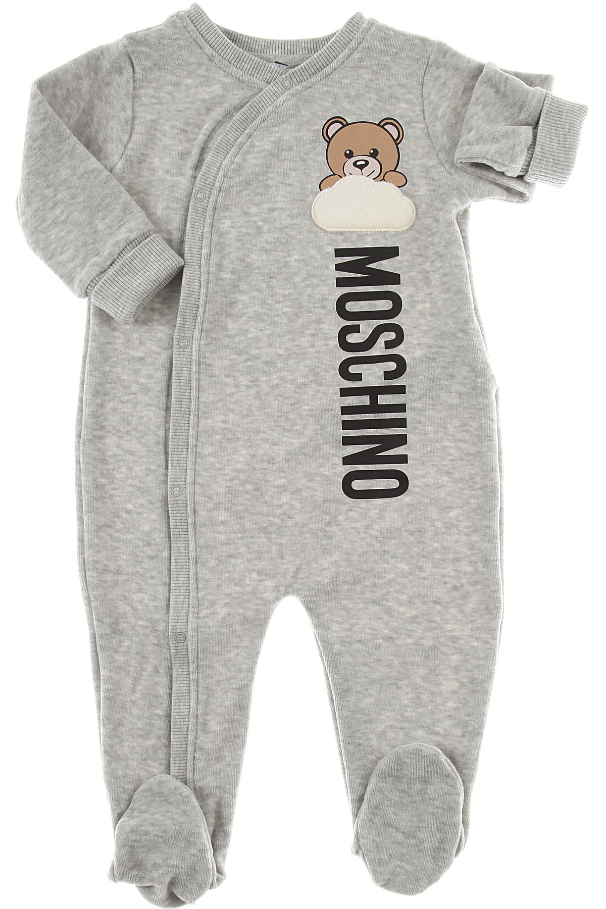 Image of Moschino Suits, Grey, Cotton, 2017, 6M 9M