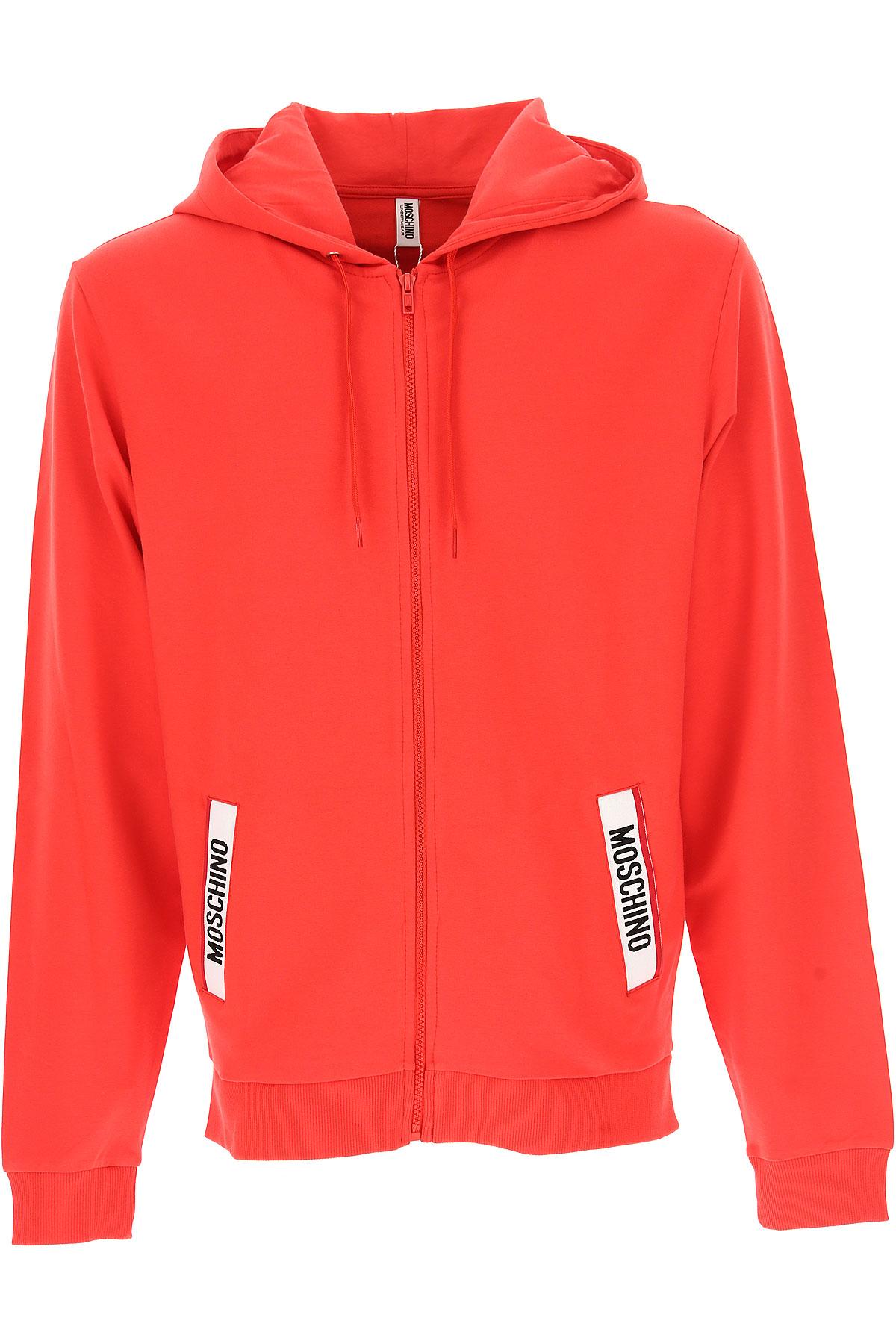 Moschino Sweatshirt for Men, Red, Cotton, 2017, L M S XL USA-444880