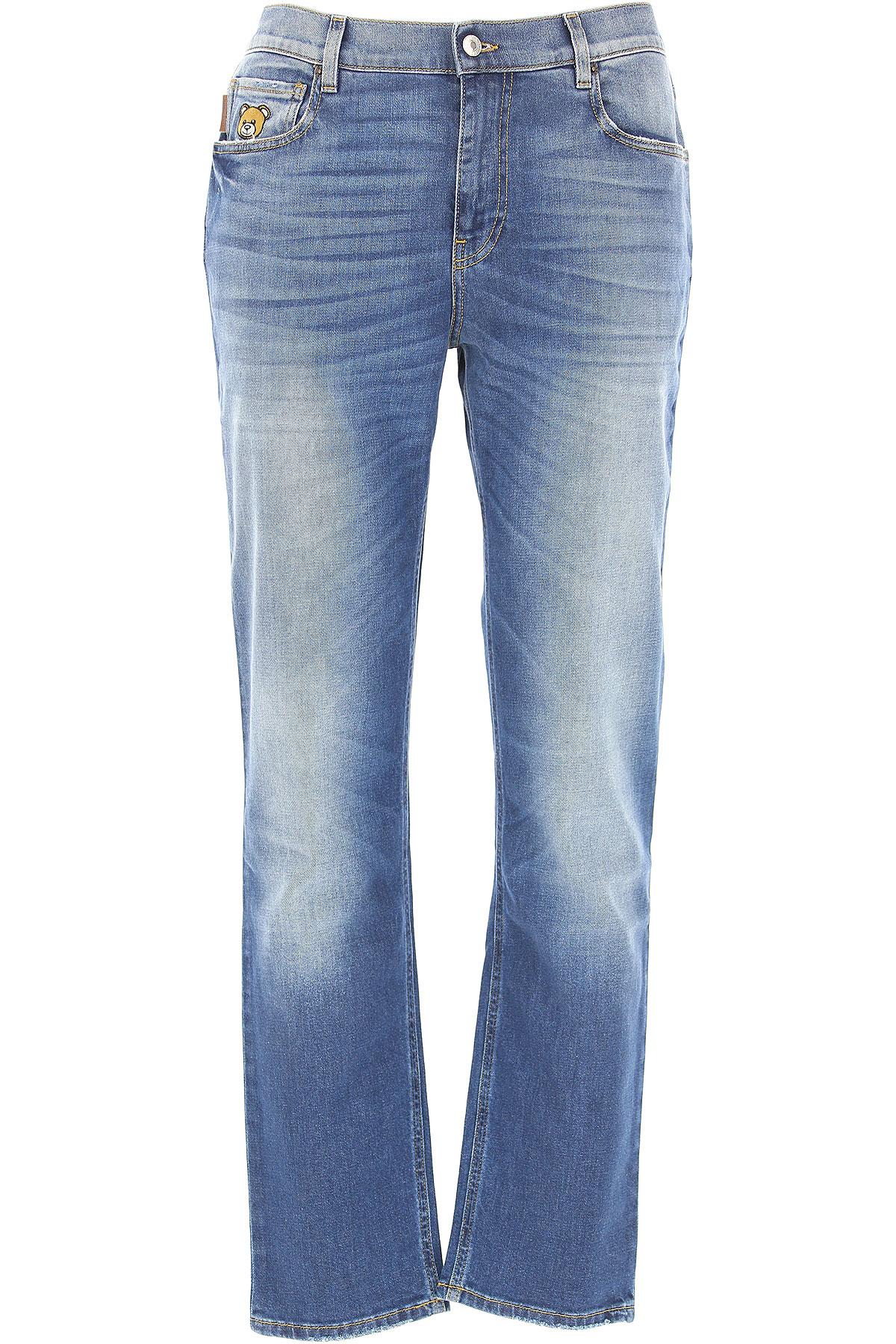 Moschino Jeans, Denim, Cotton, 2017, 30 32 34 36 38 USA-472214