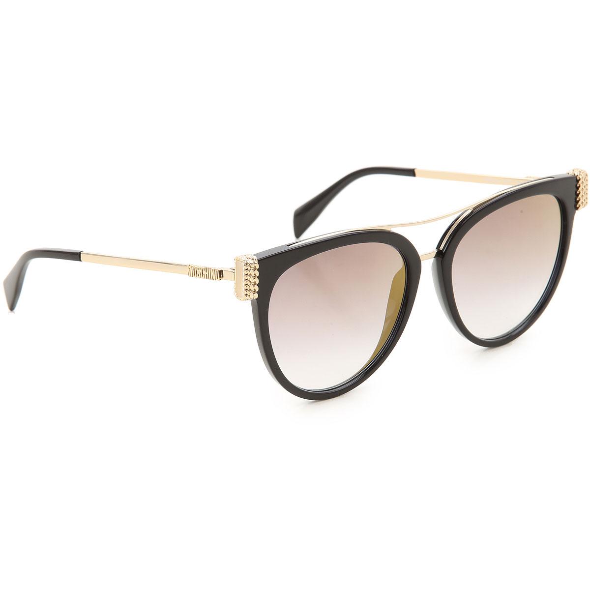 MOSCHINO Sonnenbrille | Moschino Sonnenbrillen, Schwarz, 2017