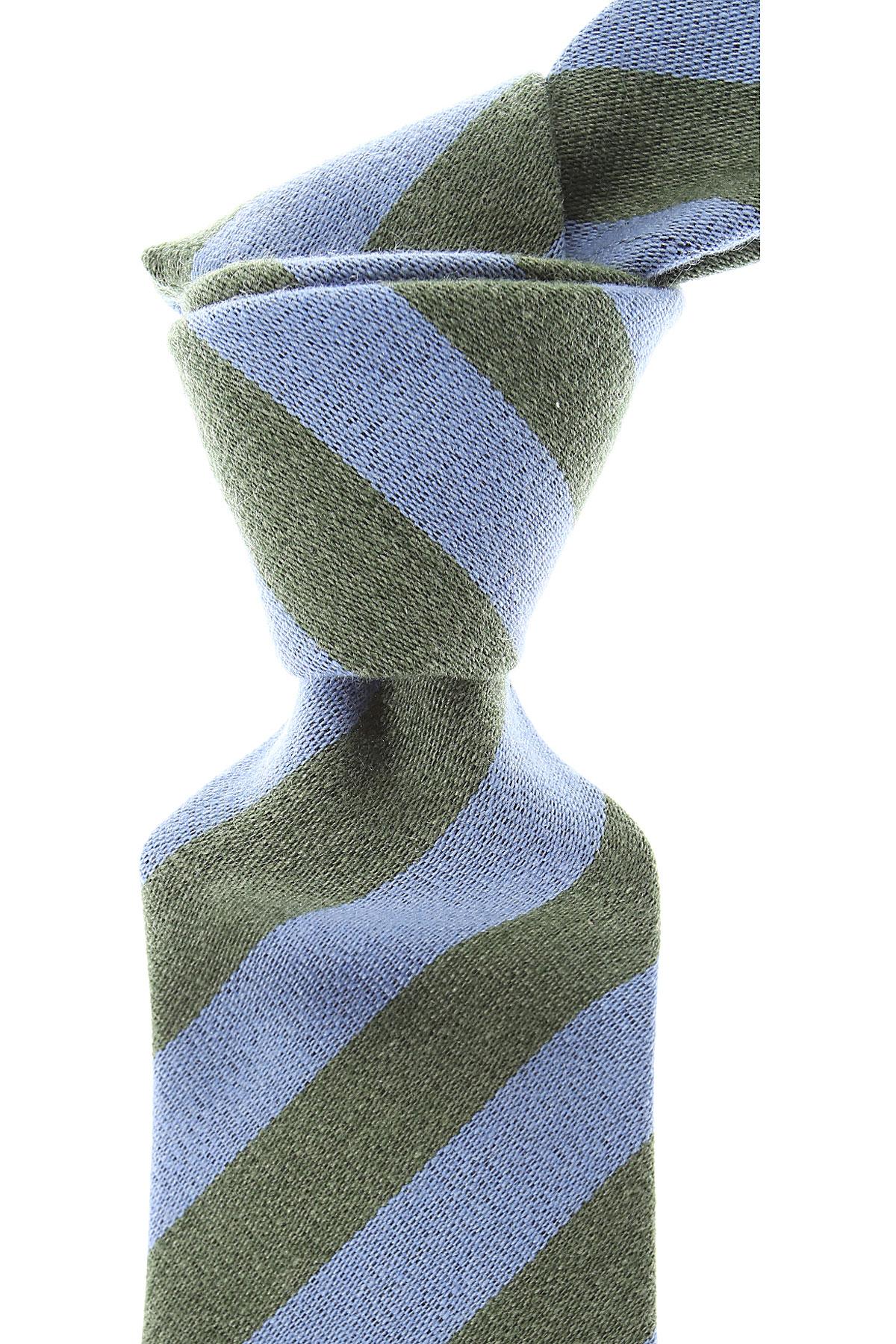 Moschino Cravates Pas cher en Soldes, Ciel, Laine, 2021