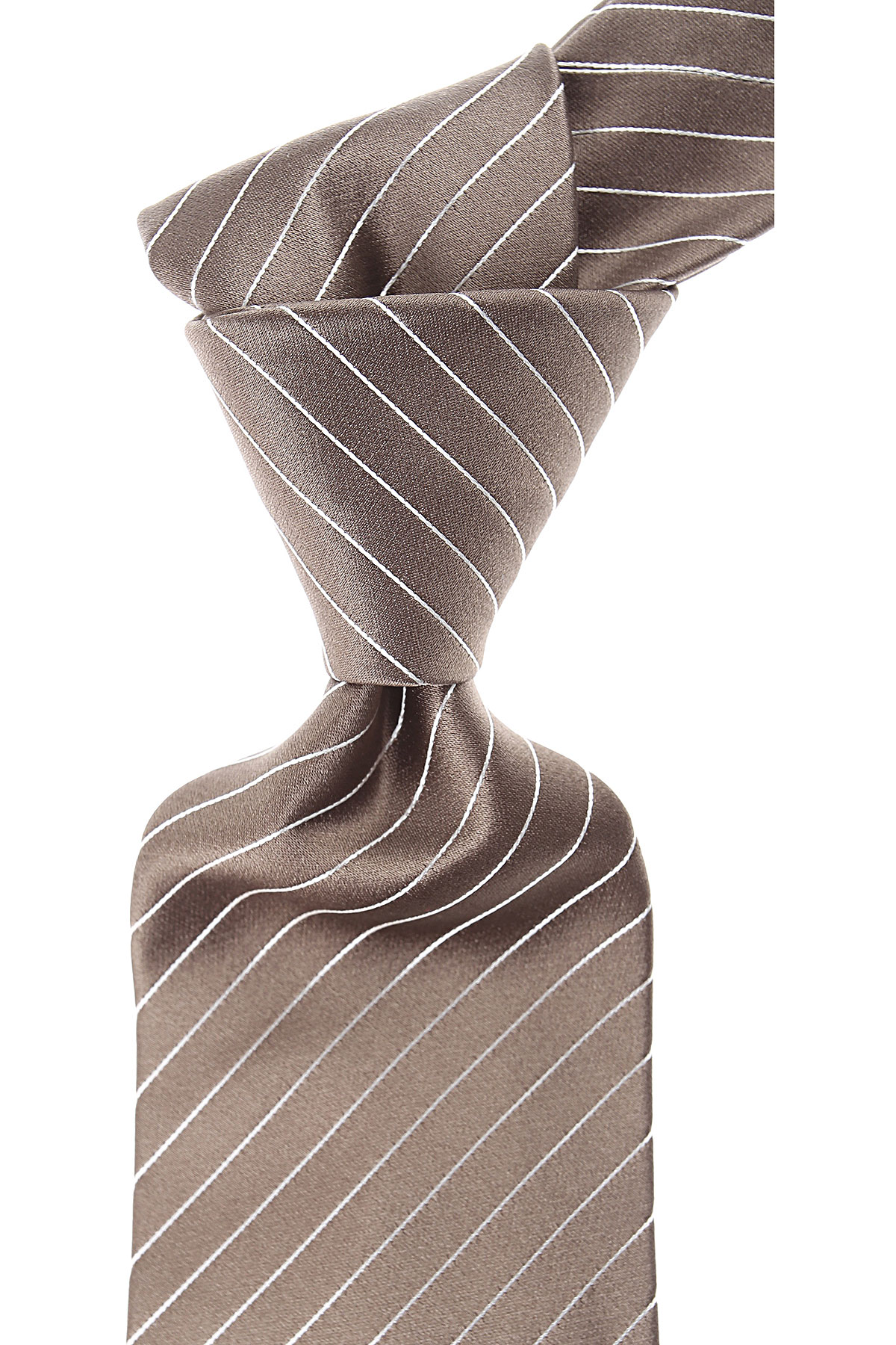 Moschino Cravates Pas cher en Soldes, Vert olive, Soie, 2019