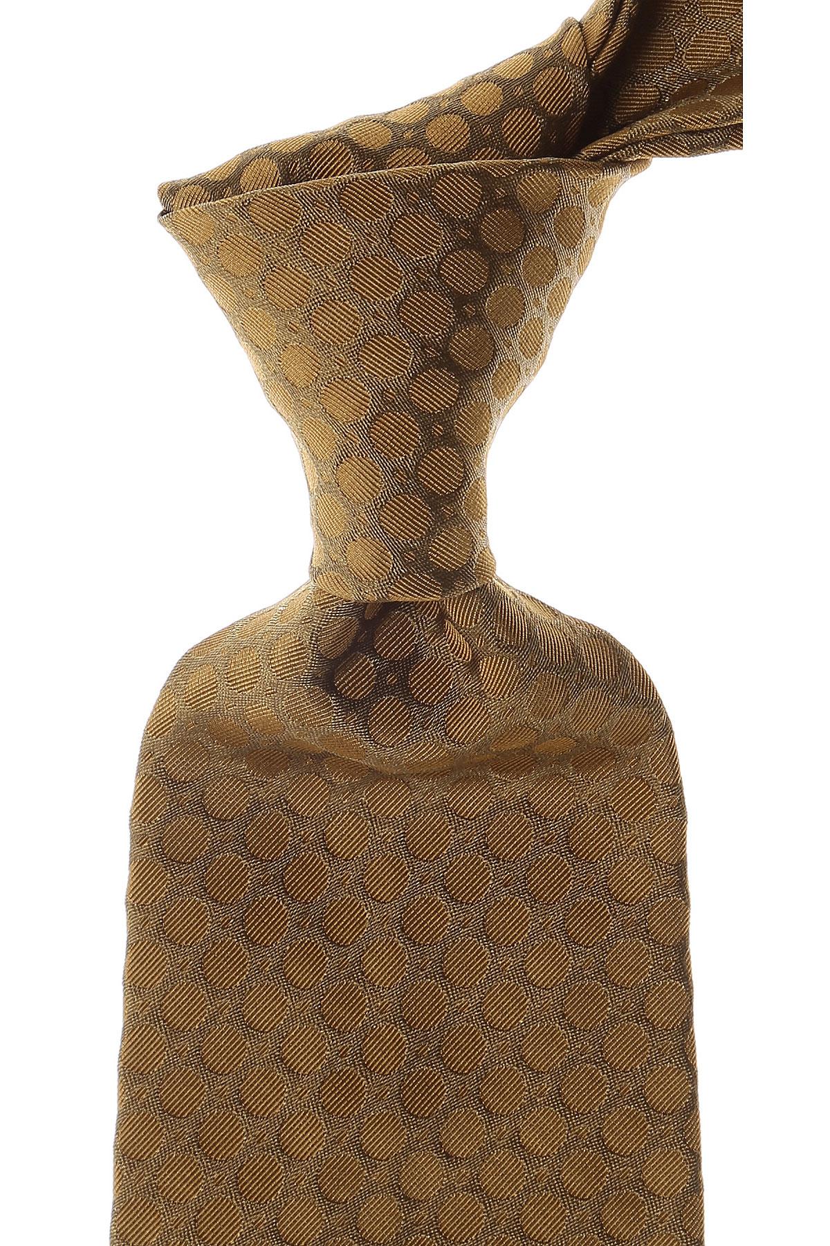 Moschino Cravates Pas cher en Soldes, Vert boueux, Soie, 2021