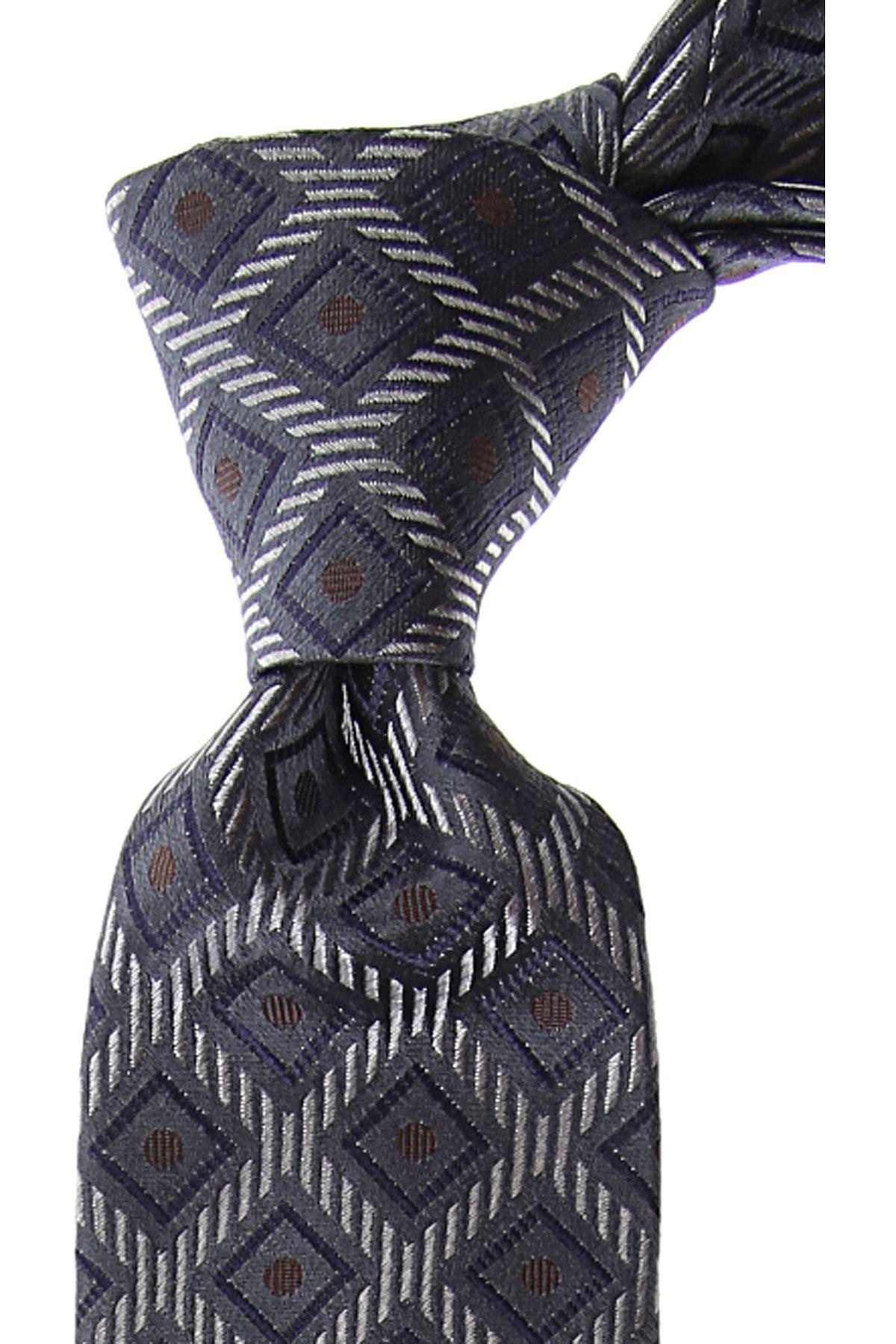 Moschino Cravates Pas cher en Soldes, Anthracite, Soie, 2019