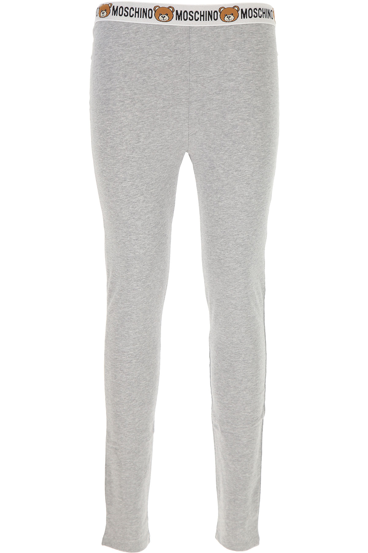 Moschino Women's Sportswear for Gym Workouts and Running On Sale in Outlet, Melange Grey, Cotton, 2019, 6 8