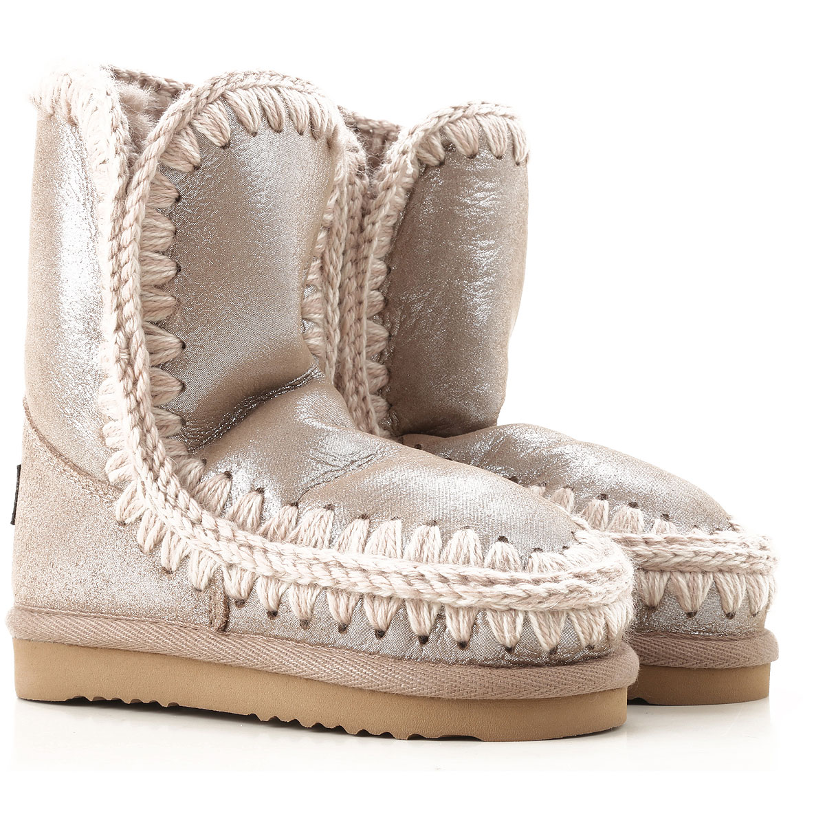 Image of Mou Kids Shoes for Girls, Glitter Bronze, Leather, 2017, 24 25 26 27 28 29 30 31 32 33 34 35