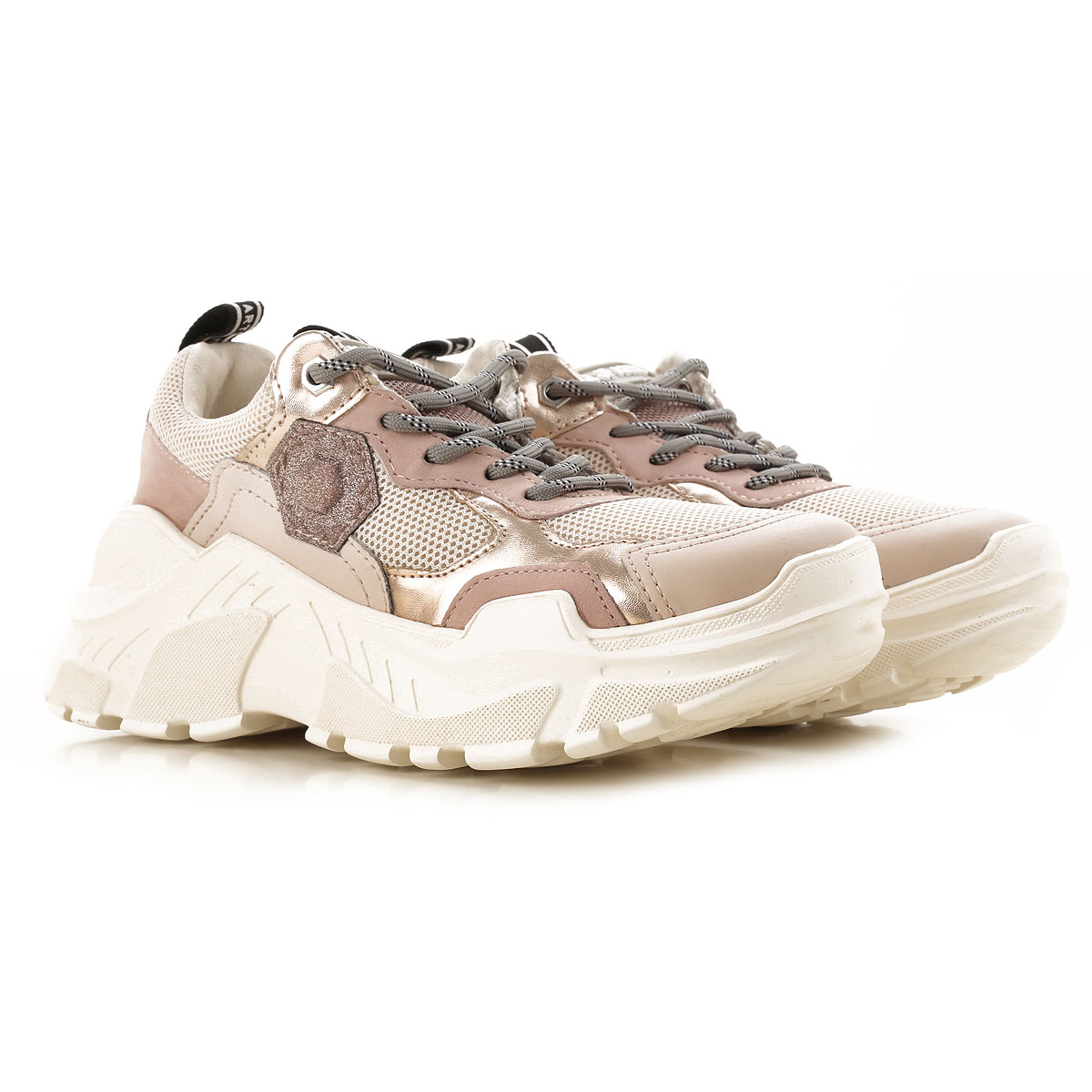 Moa Master of Arts Sneakers for Women On Sale in Outlet, Pale Antique Rose, Leather, 2019, 6 7