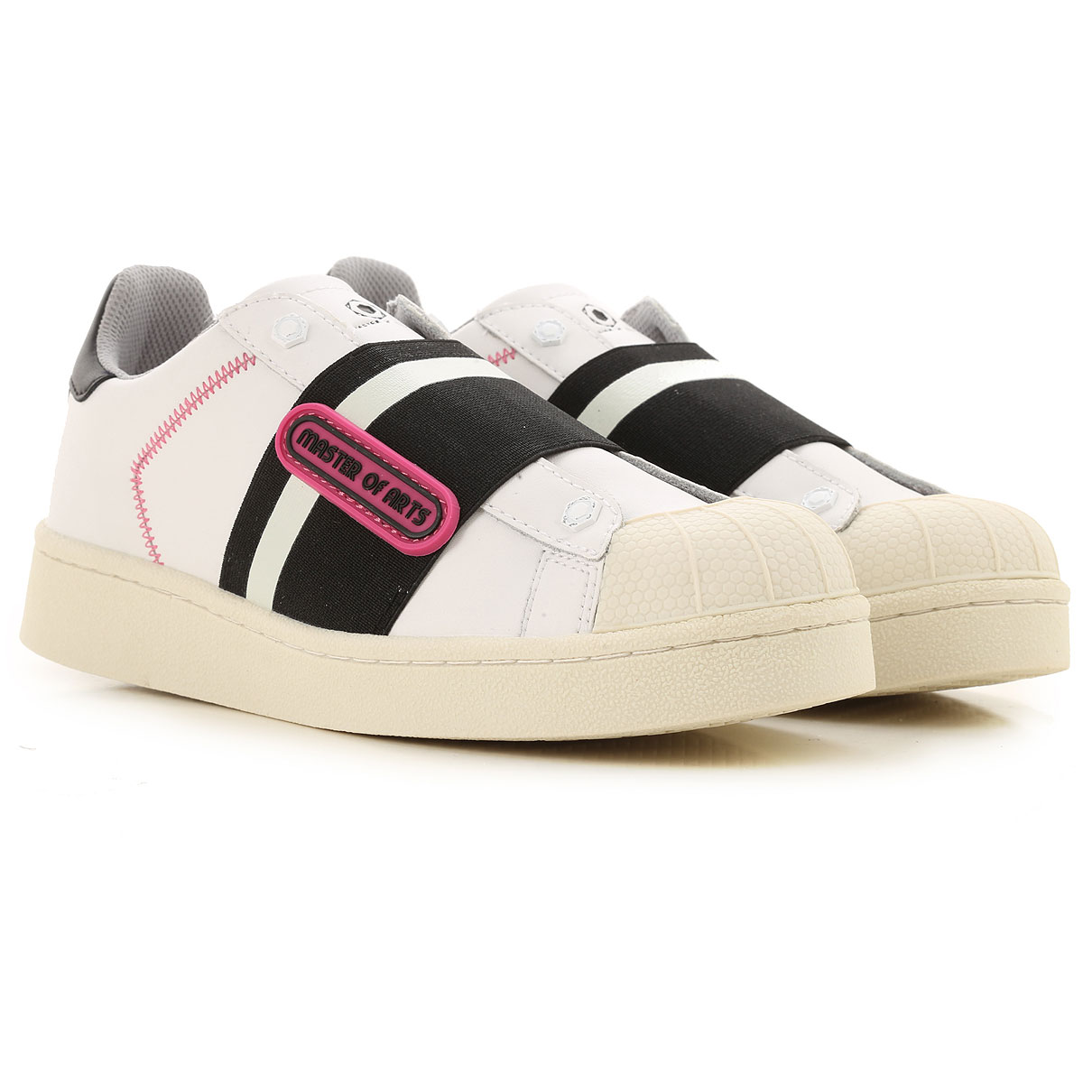 Moa Master of Arts Sneakers for Women, White, Leather, 2019, 11 6 7 9