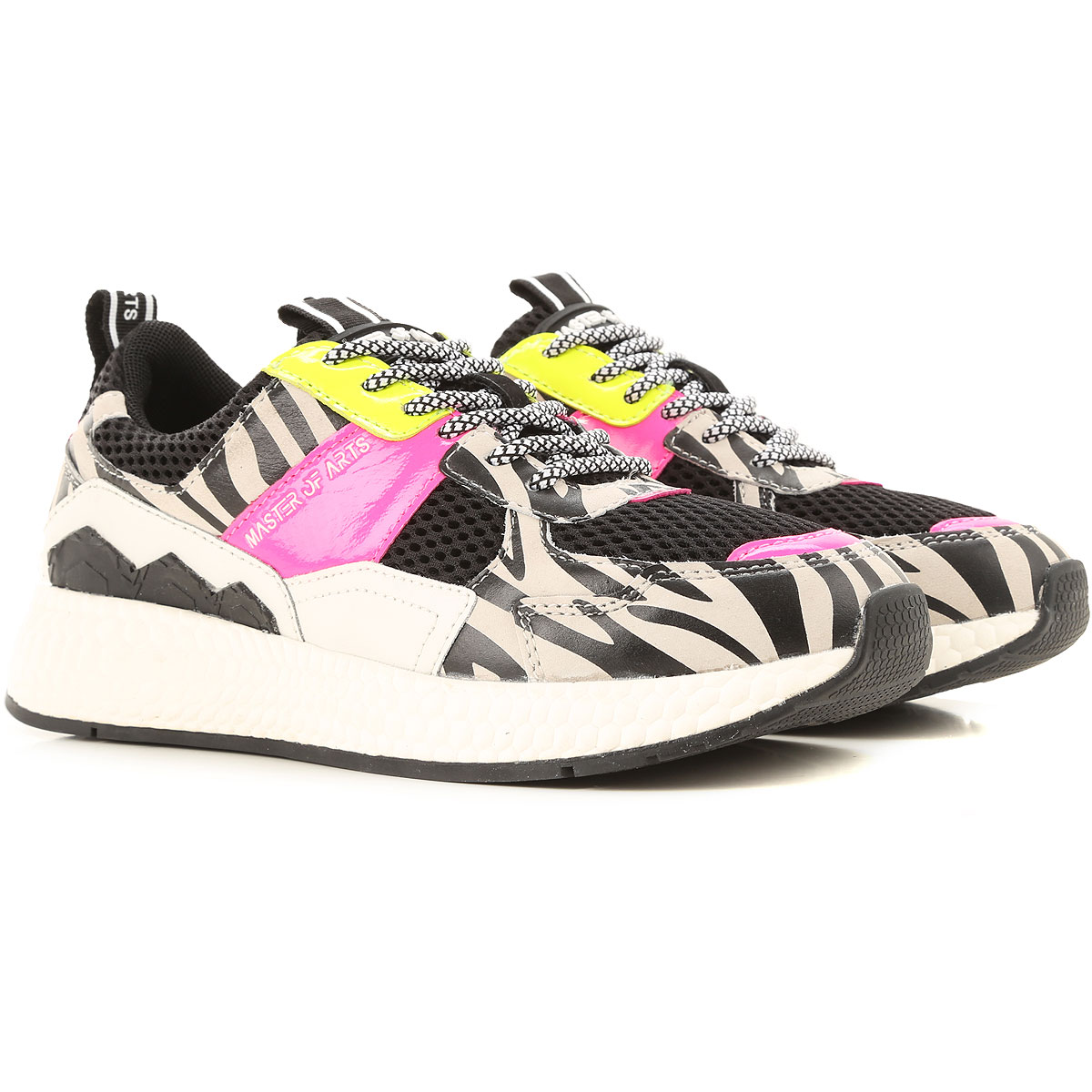 Moa Master of Arts Sneakers for Women On Sale, Black, Leather, 2019, 10 5 6 8 9