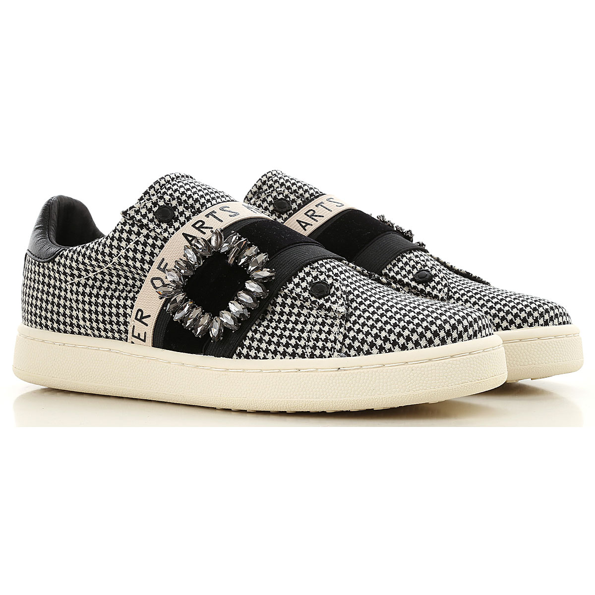 Image of Moa Master of Arts Slip on Sneakers for Women, Cream, Canvas, 2017, 10 6 7 8 9