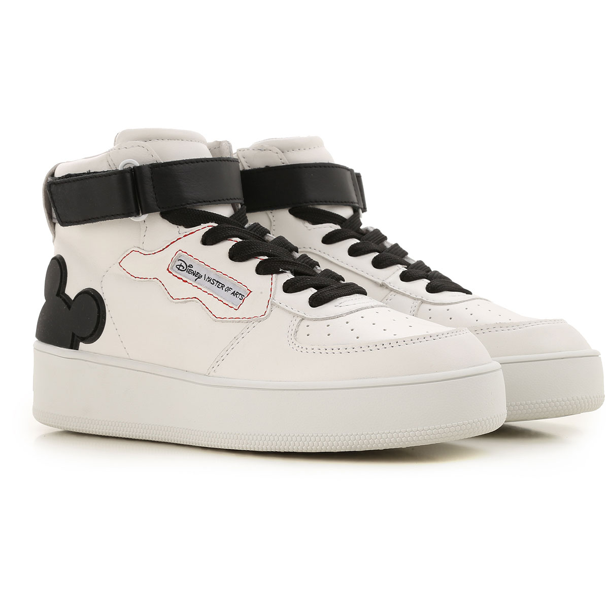 Moa Master of Arts Sneakers for Women On Sale, White, Leather, 2019, 10 6 7 8 9