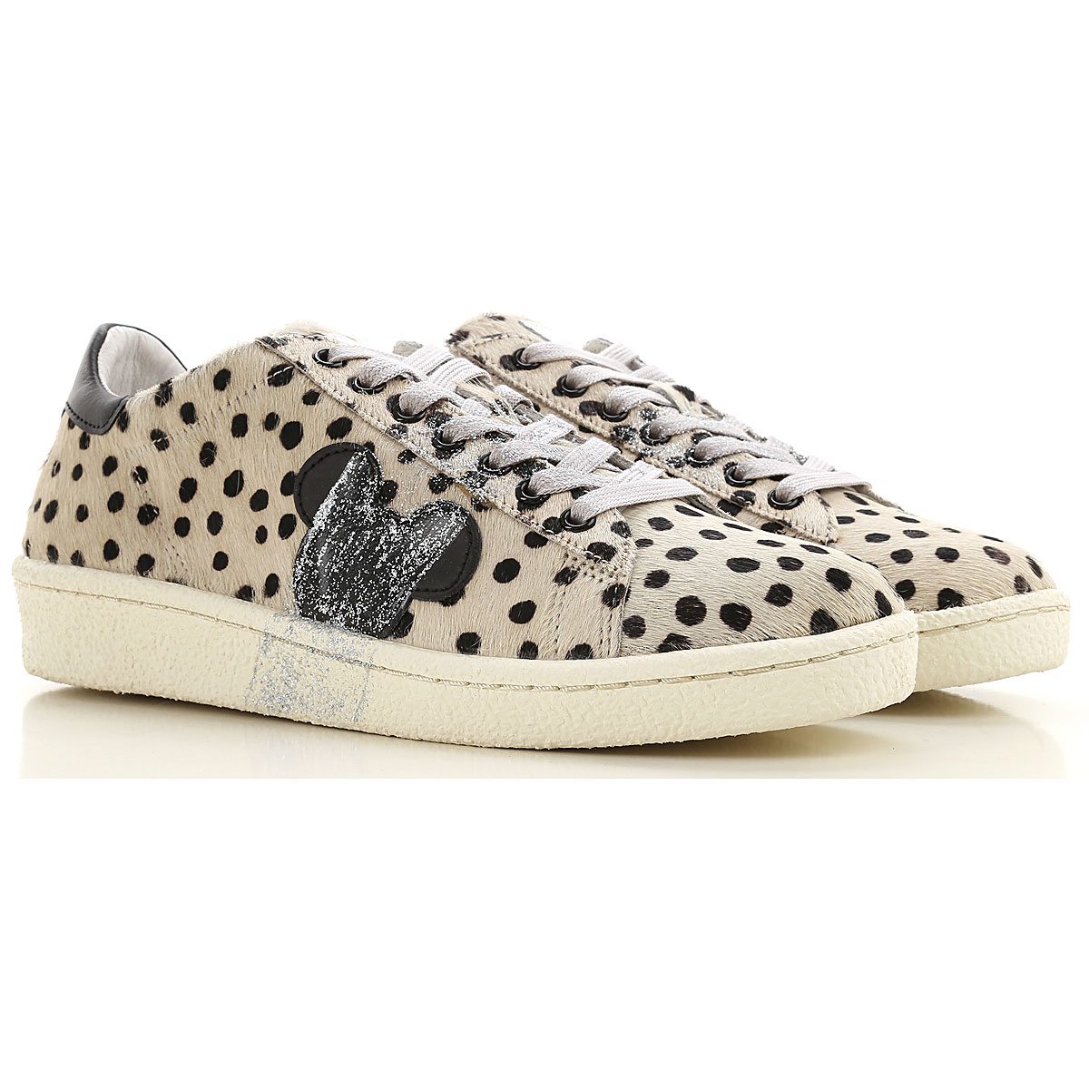 Moa Master of Arts Sneakers for Women On Sale, Beige, Fur, 2019, 10 7 8 9