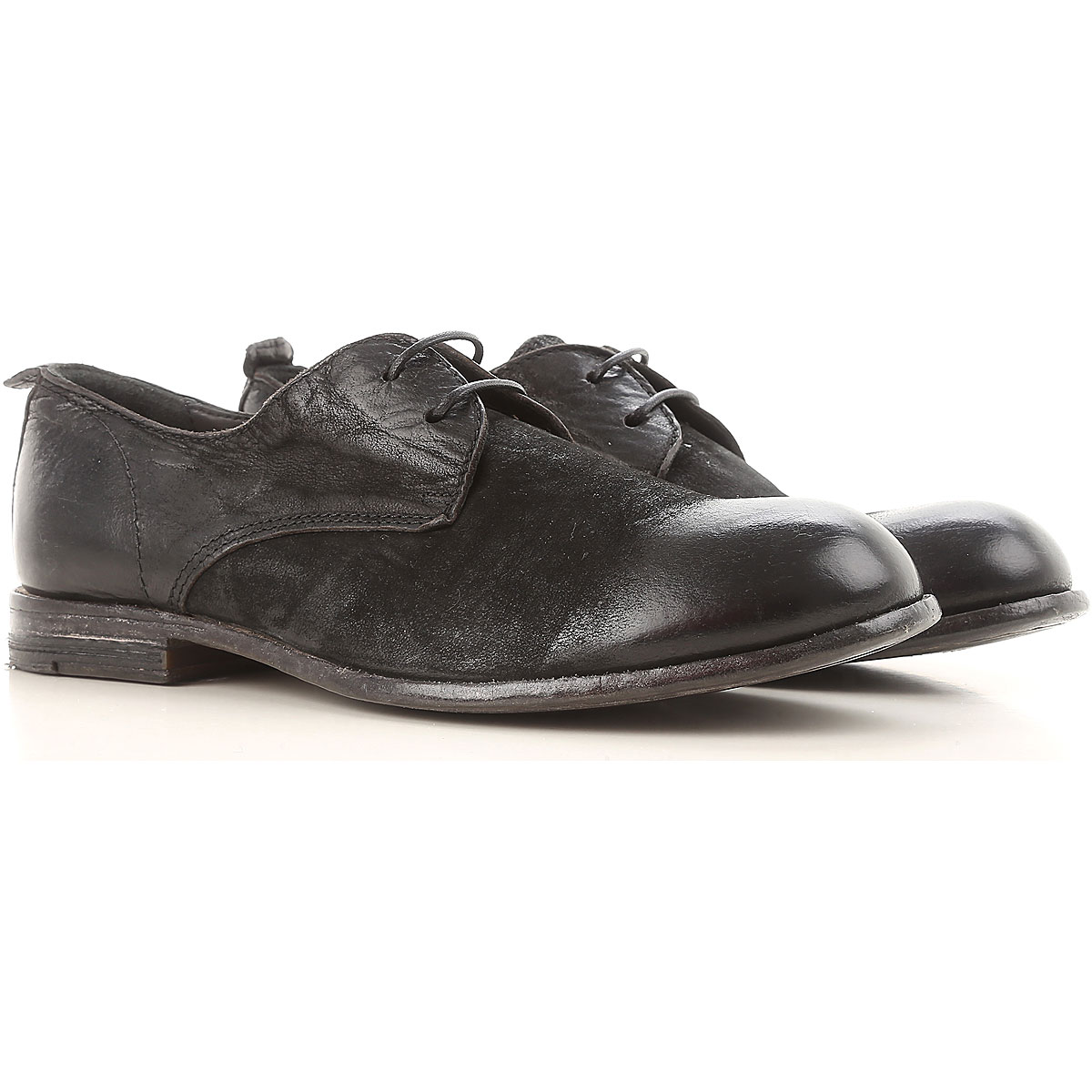 Image of Moma Womens Shoes, Black, Leather, 2017, 10 6 7