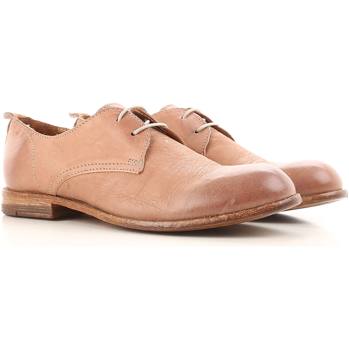 Image of Moma Womens Shoes, Old Pink, Leather, 2017, 10 6 7