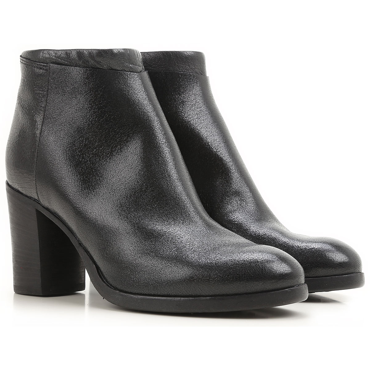 Image of Moma Boots for Women, Booties On Sale in Outlet, Black Desert, Leather, 2017, 8.5 9