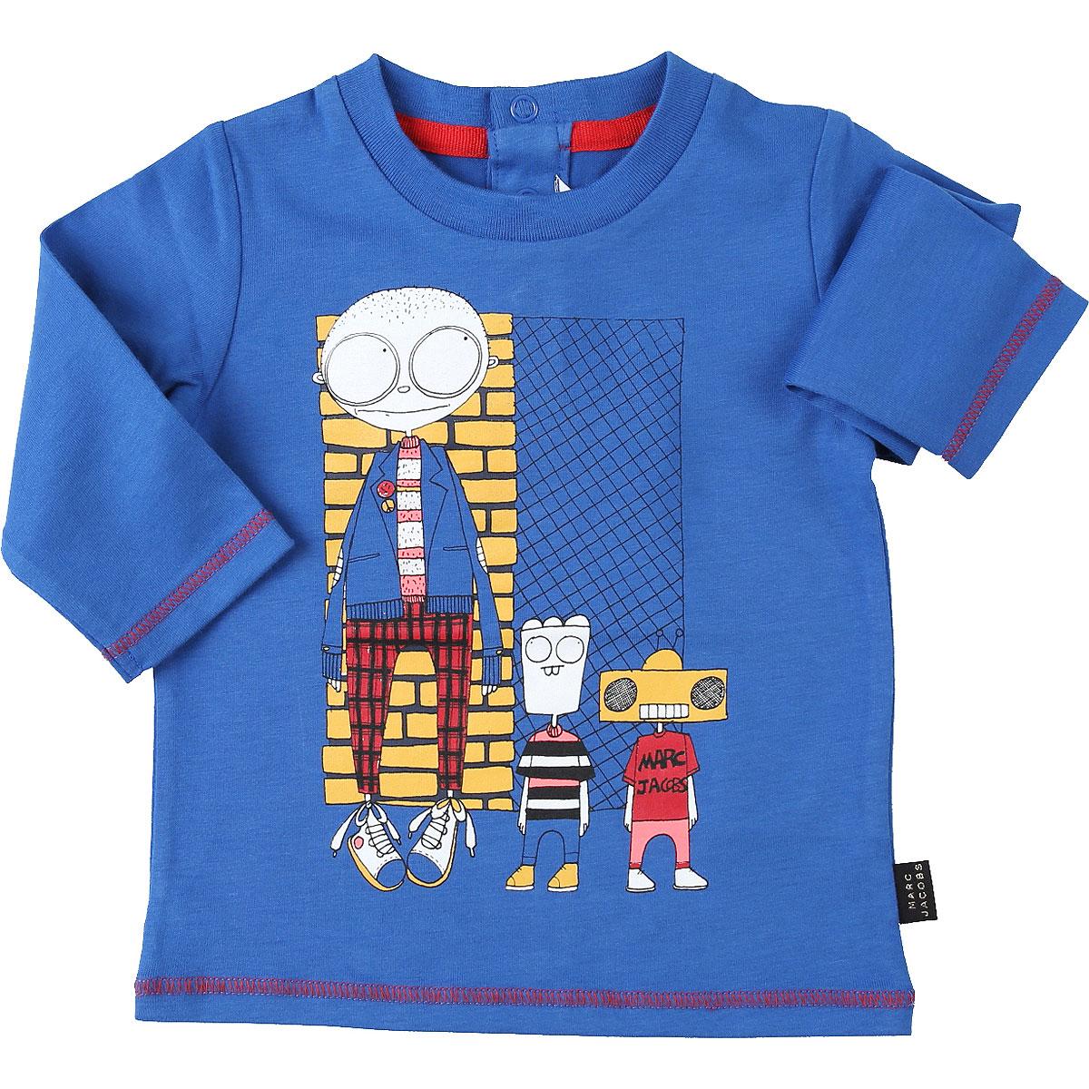 Marc Jacobs Baby T-Shirt for Boys On Sale, Bluette, Cotton, 2019, 12 M 18M 6M 9M